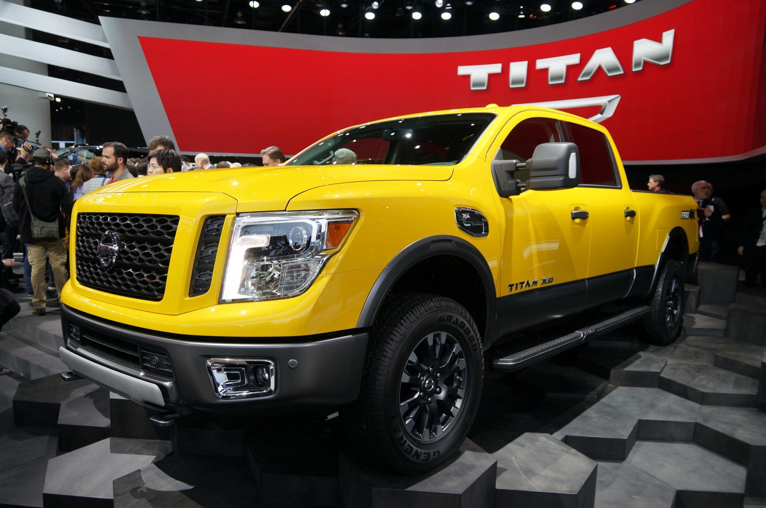 2016 Nissan Titan Diesel Car Wallpaper Desktop HD
