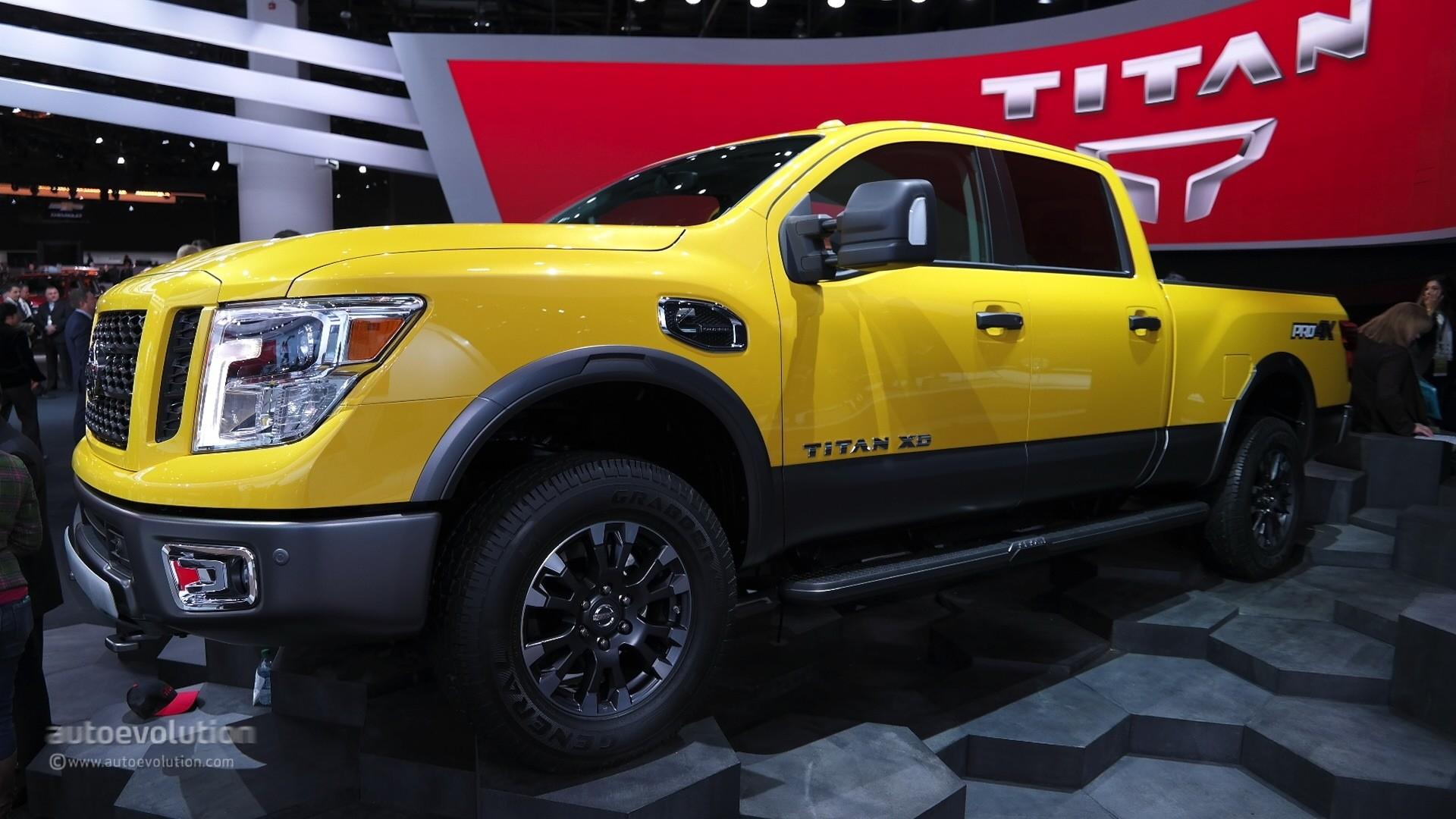 New 2016 Nissan Titan XD Cummins Light Duty Truck Has Heavy Duty Attitude     Nissan