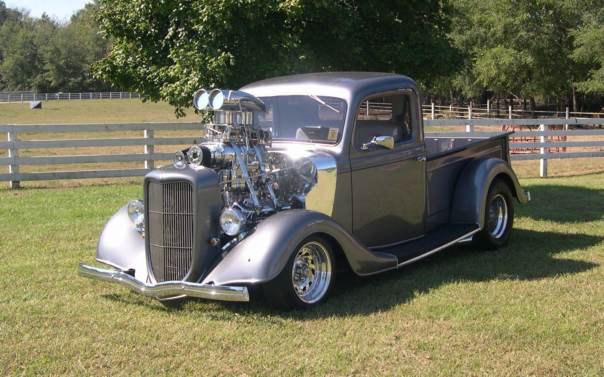 hot rod pictures   Supercharged Hot Rod wallpapers and stock photos