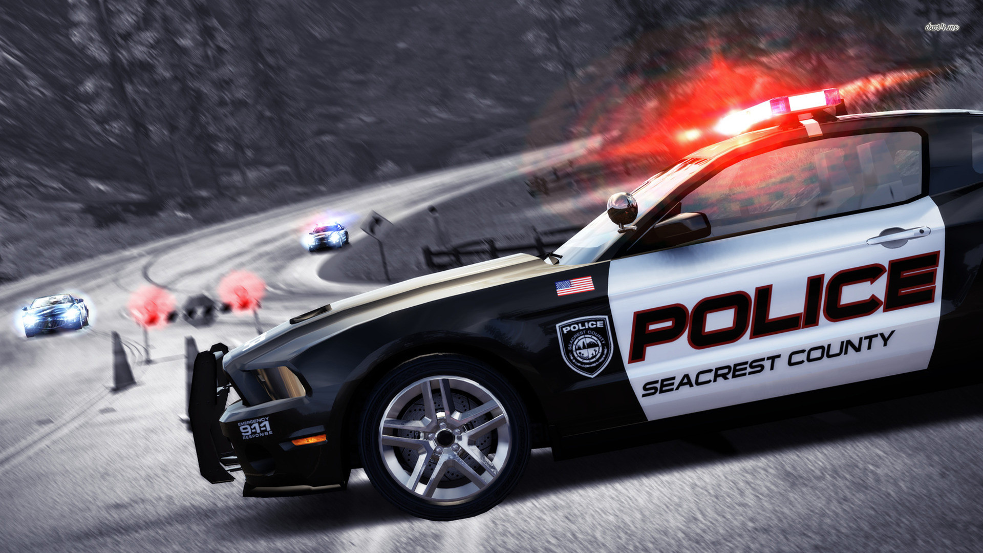 Speed – Hot Pursuit police car wallpaper – Game wallpapers – #13119 .