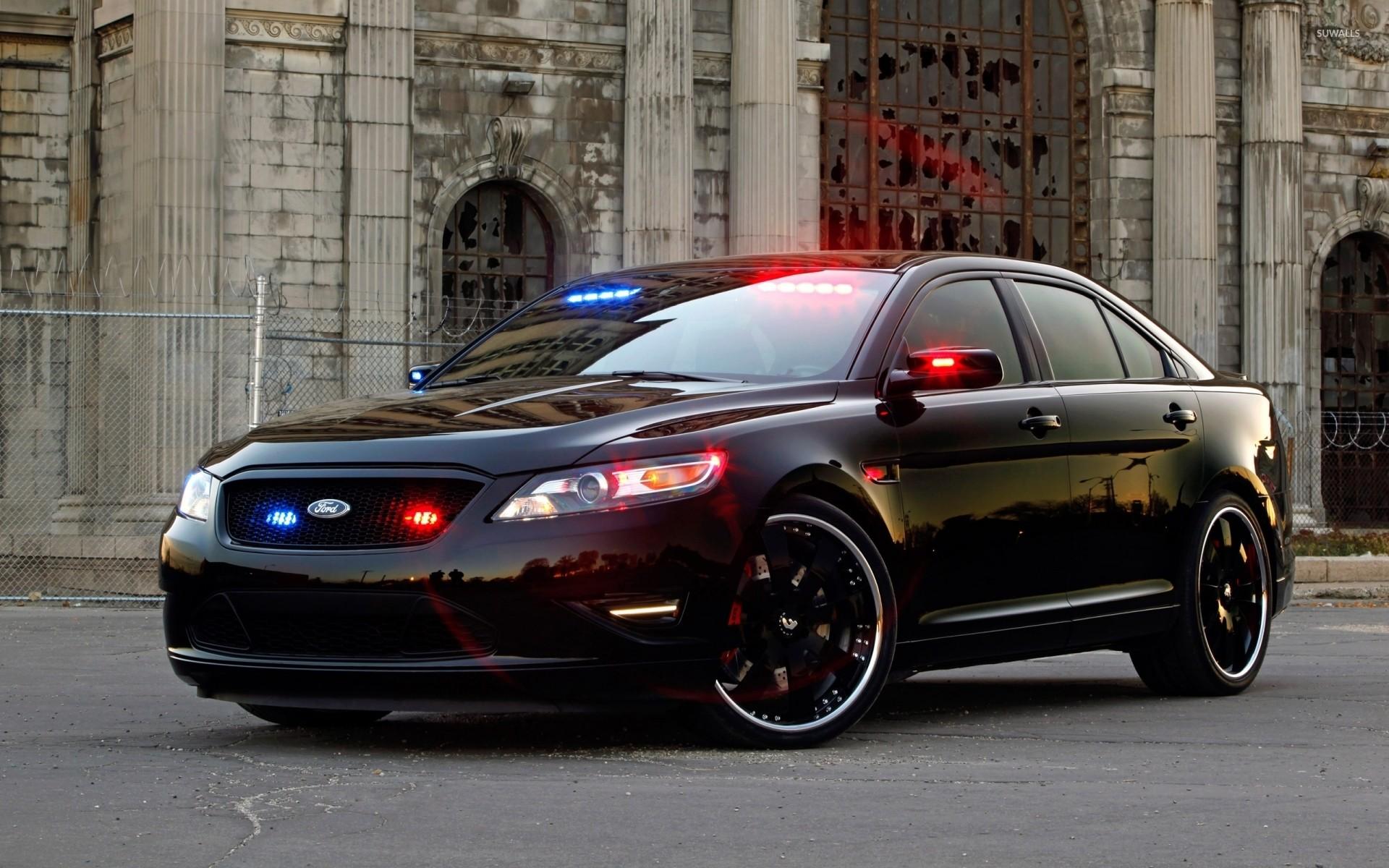 Ford Taurus police car wallpaper jpg