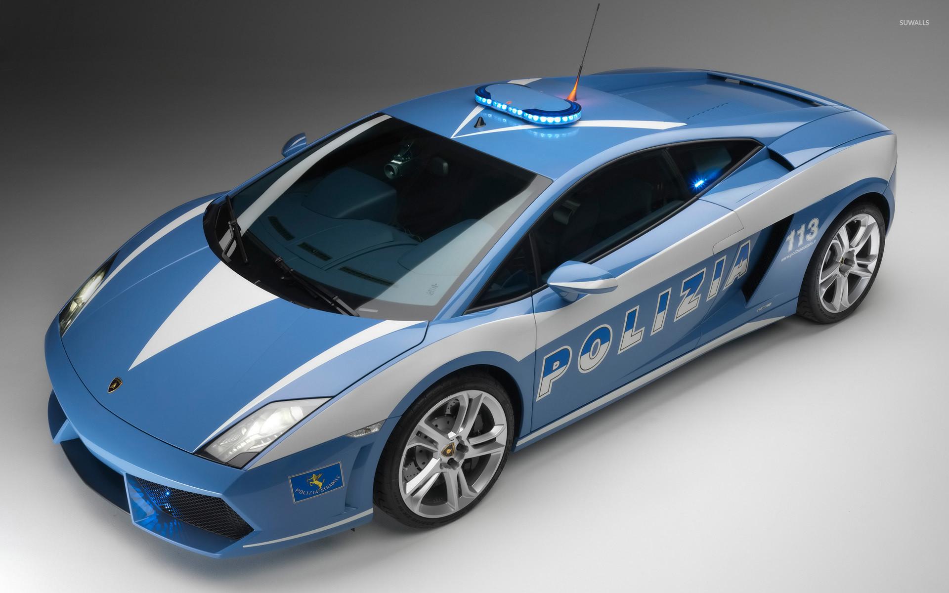 Lamborghini Gallardo police car wallpaper