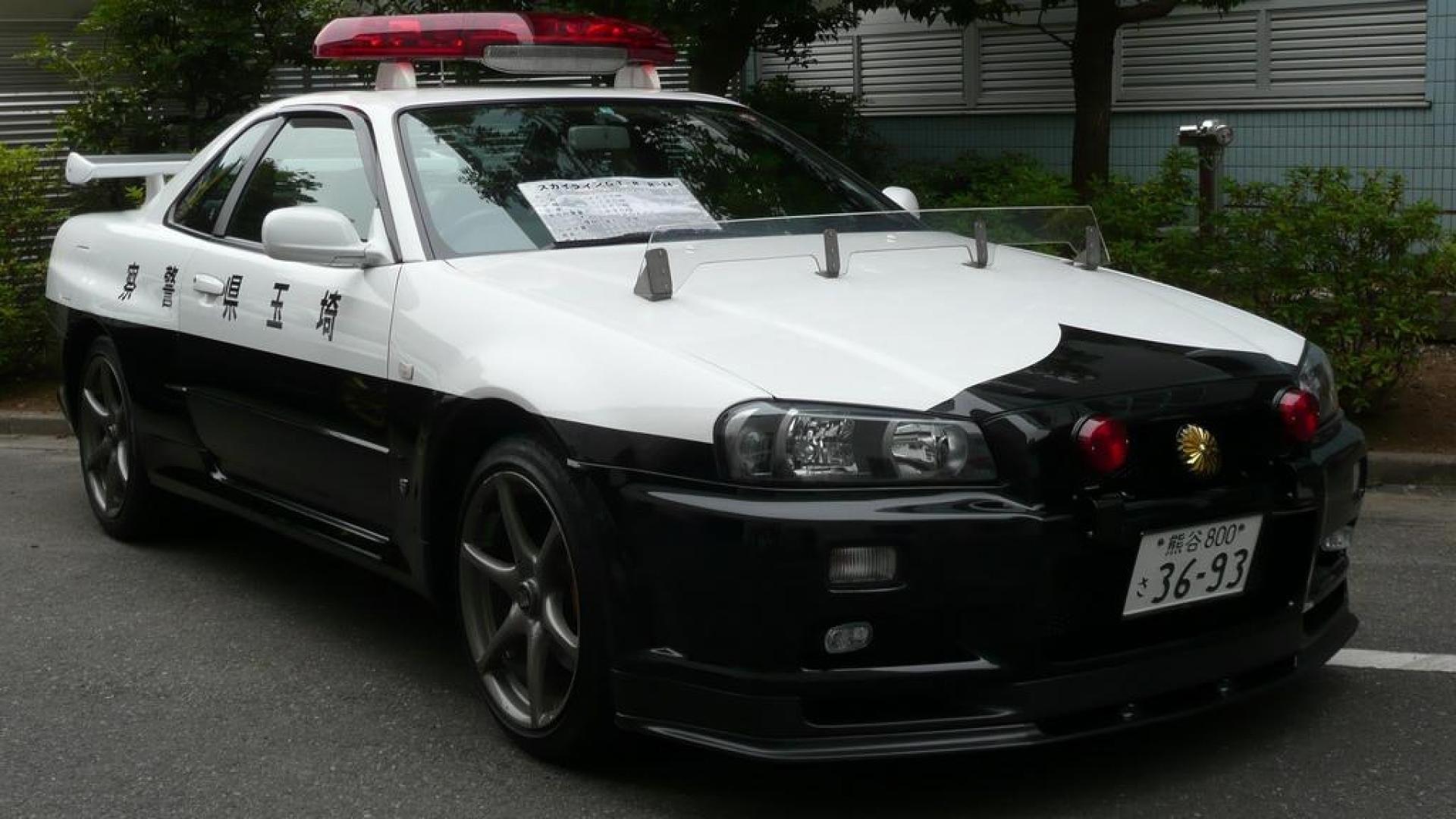 Nissan Skyline Gtr Police Car