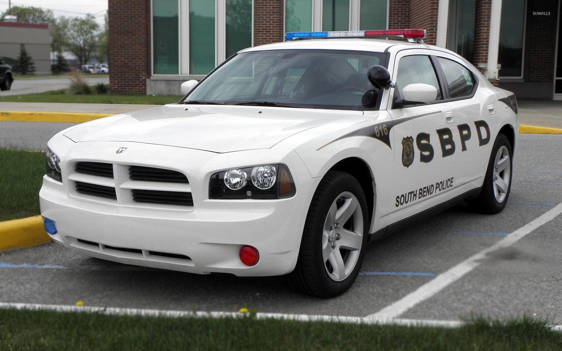 2009 Dodge Charger Police car wallpaper jpg
