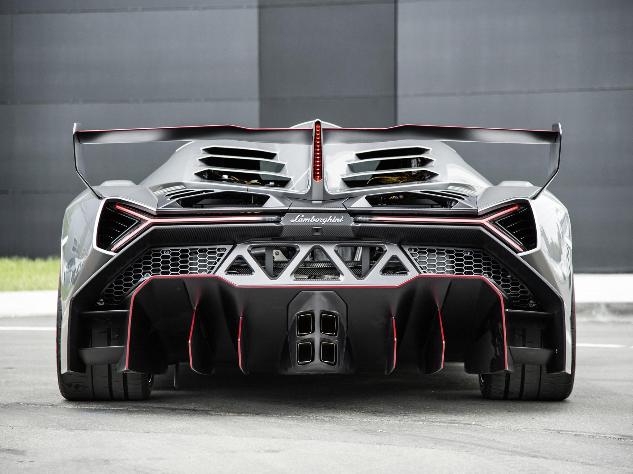 Lamborghini Veneno 2015 Echo Car