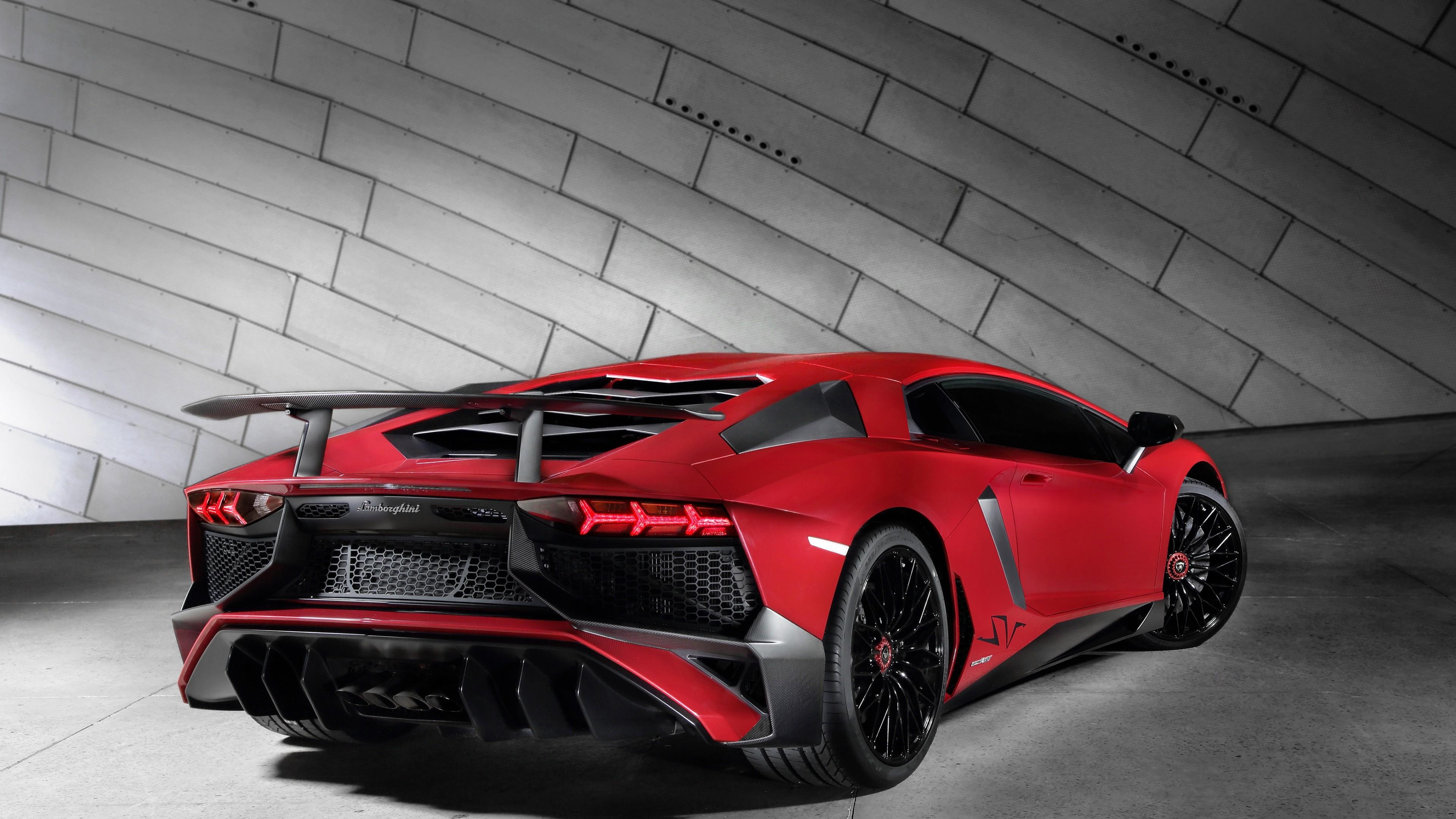 Red Lamborghini Veneno Wallpaper Hd Ultra Desktop Image
