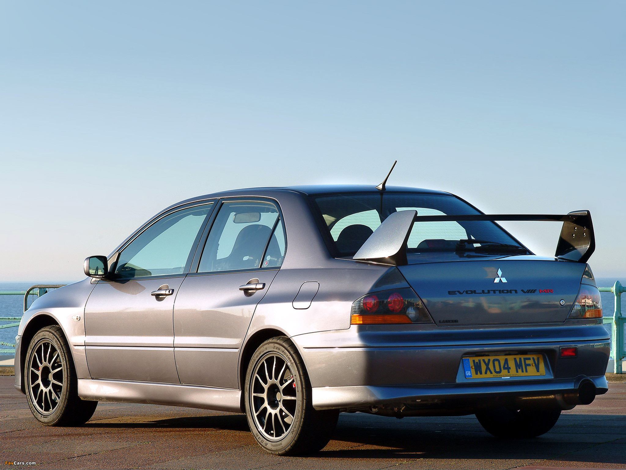 Mitsubishi Lancer Evolution VIII MR 280 2004 wallpapers 2048×1536