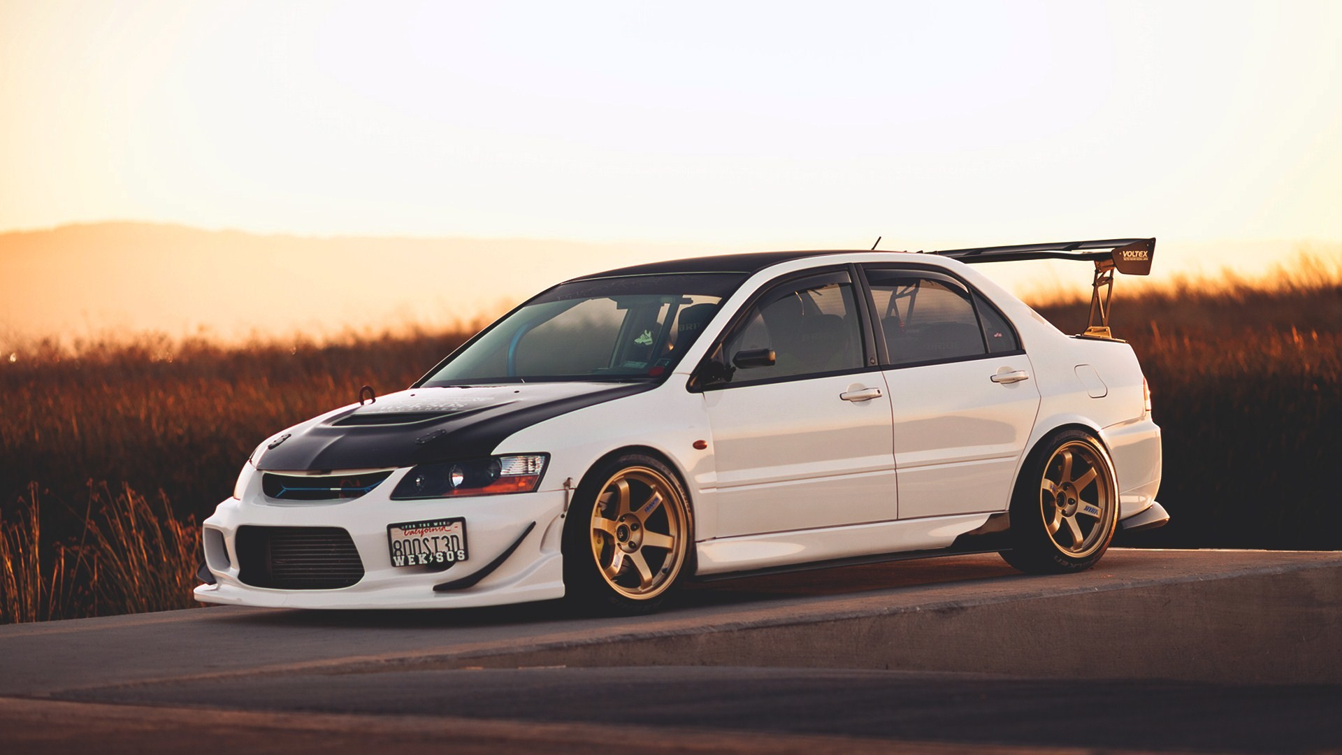Vehicles – Mitsubishi Evolution IX Wallpaper