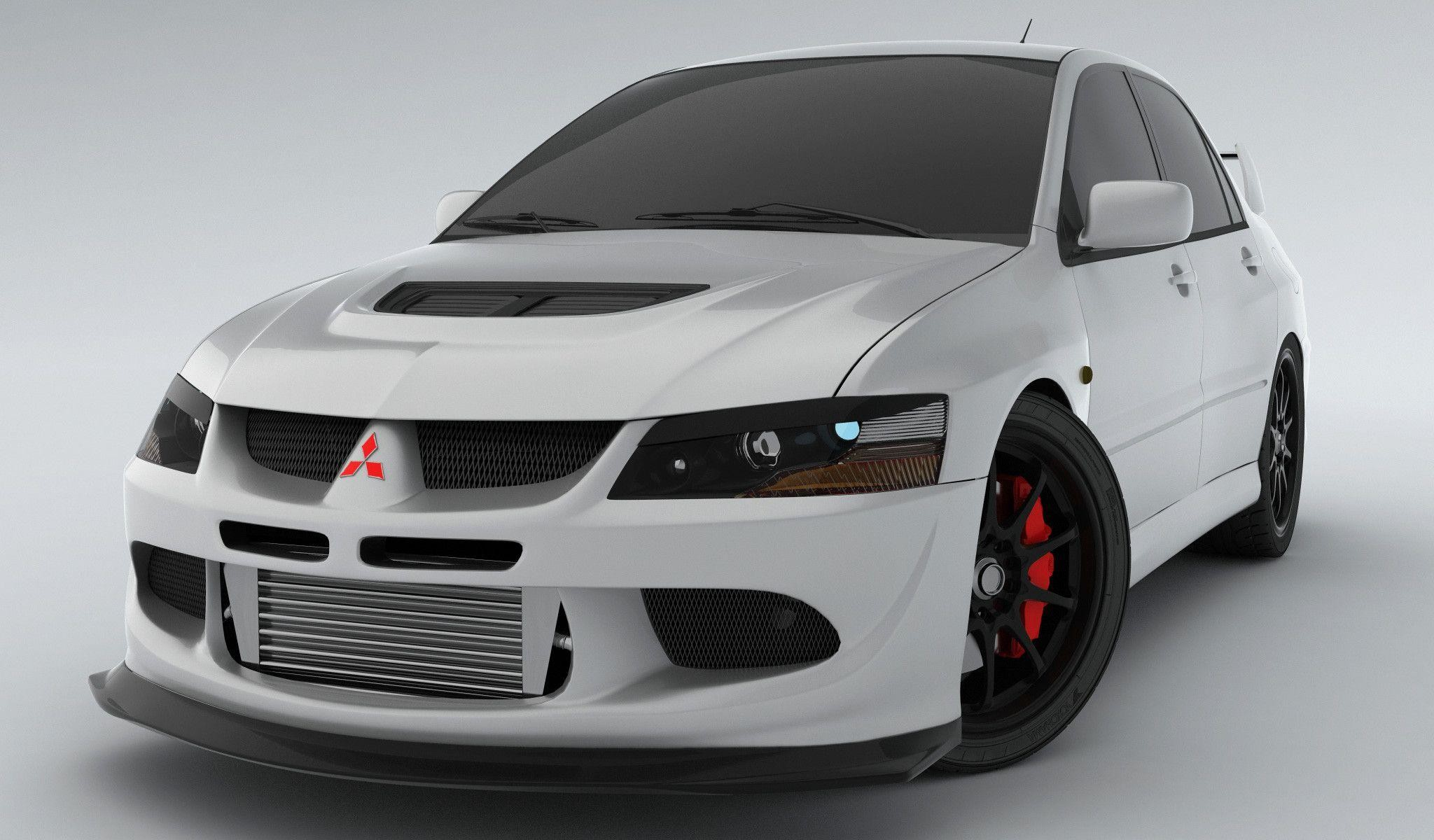 lancer evo viii render 2 by pixelroom on deviantart