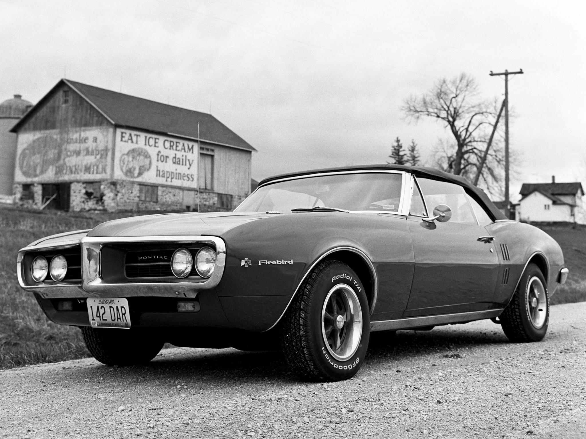 1967 Pontiac Firebird Convertible 22367 muscle classic wallpaper |  | 115700 | WallpaperUP