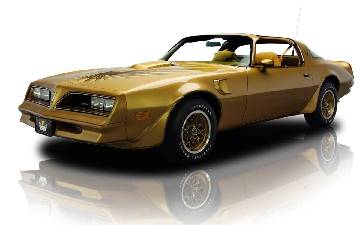 pontiac firebird trans am y – 88 gold special edition 1978 pontiac faerbёd  trans am spets