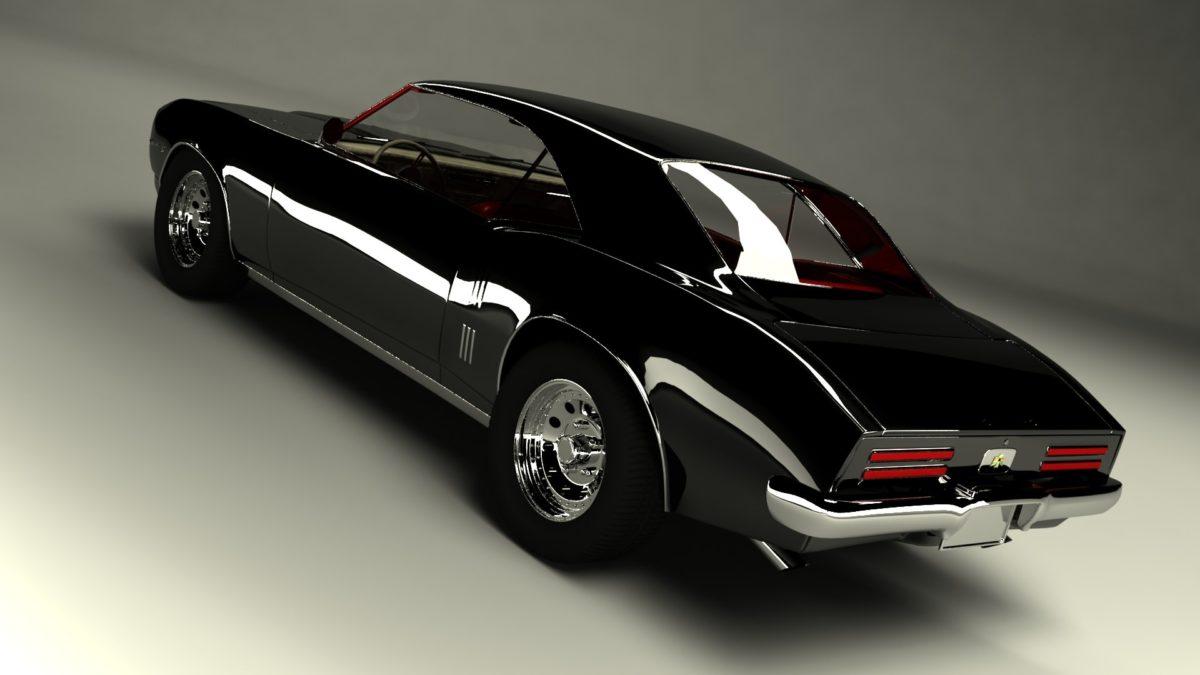 … pontiac firebird 1968 3d model max 2 …