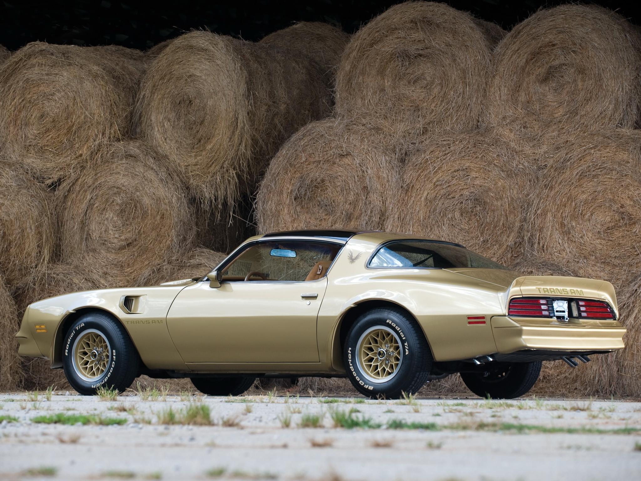 1978 Pontiac Firebird Trans-Am trans a-m muscle classic h wallpaper  background
