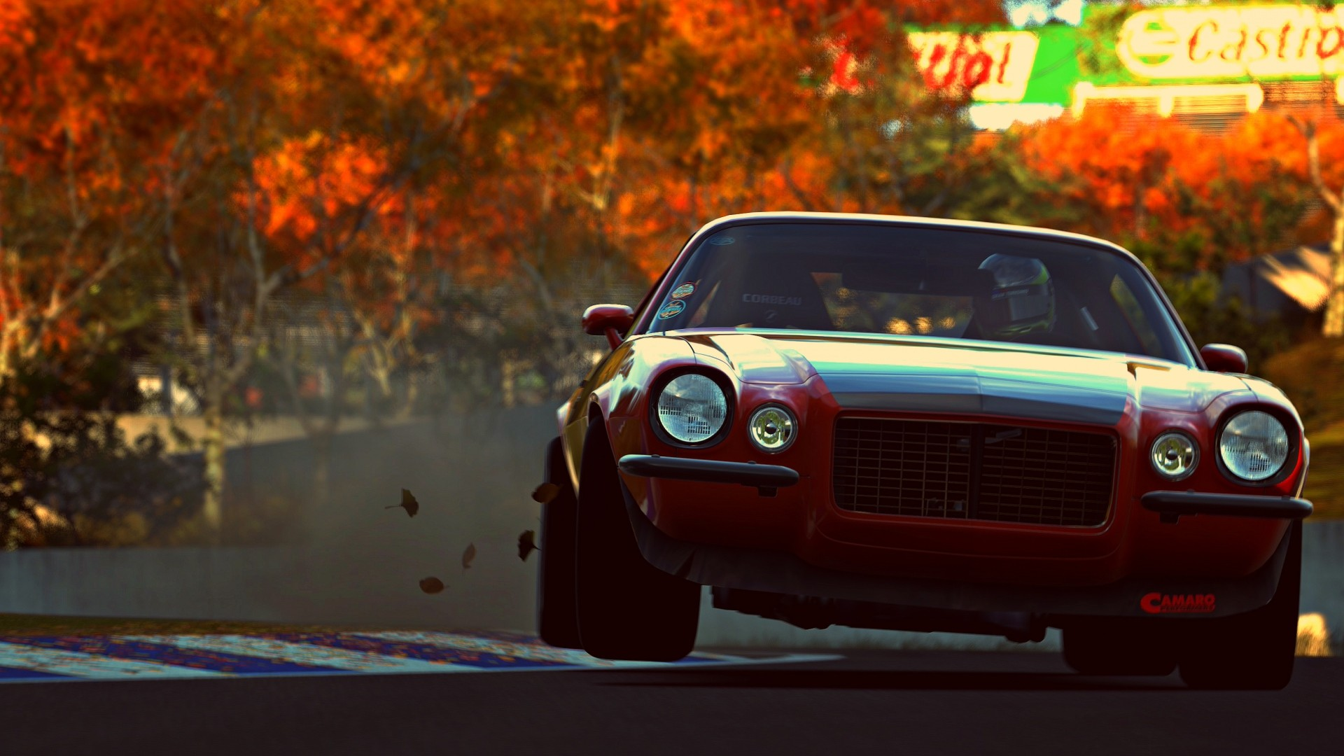 Preview wallpaper camaro rs, muscle car, vehicle, gran turismo 6 1920×1080