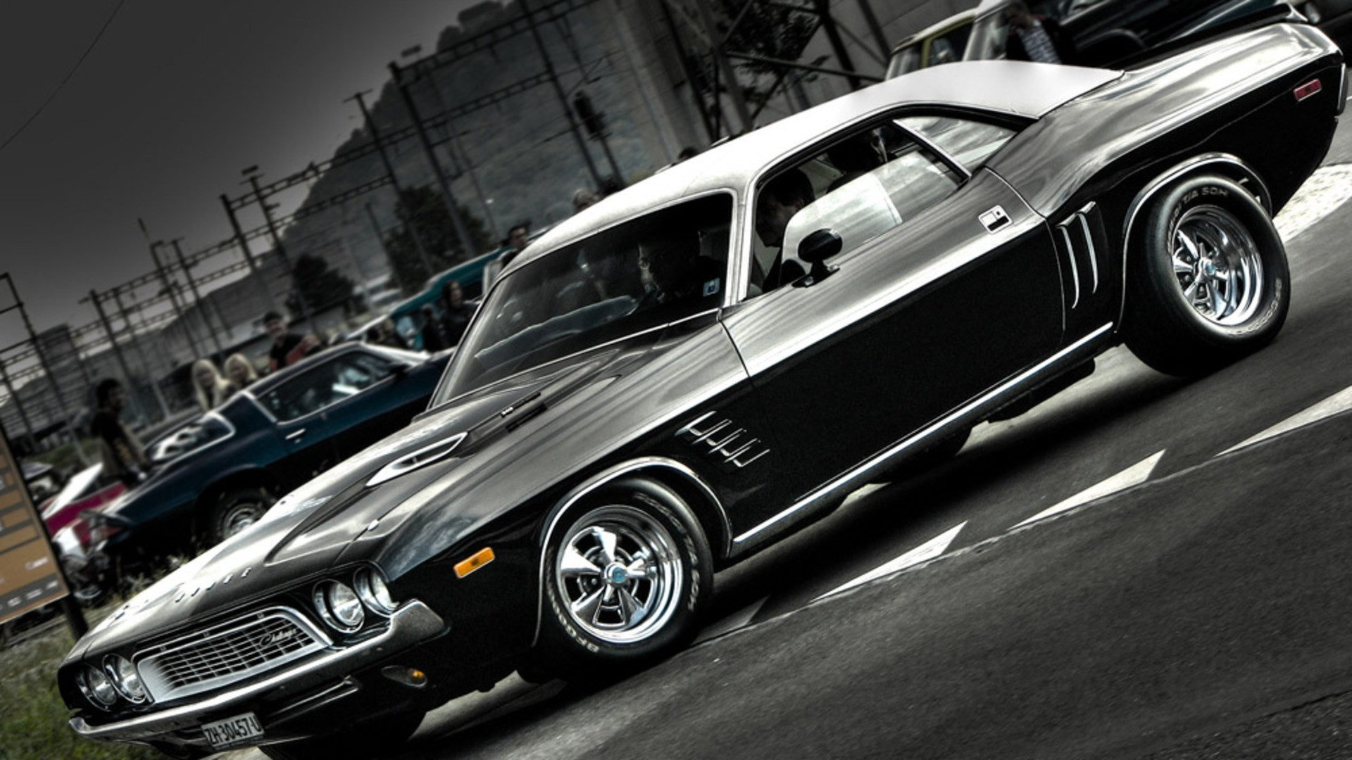 Classic American Muscle Car Wallpapers