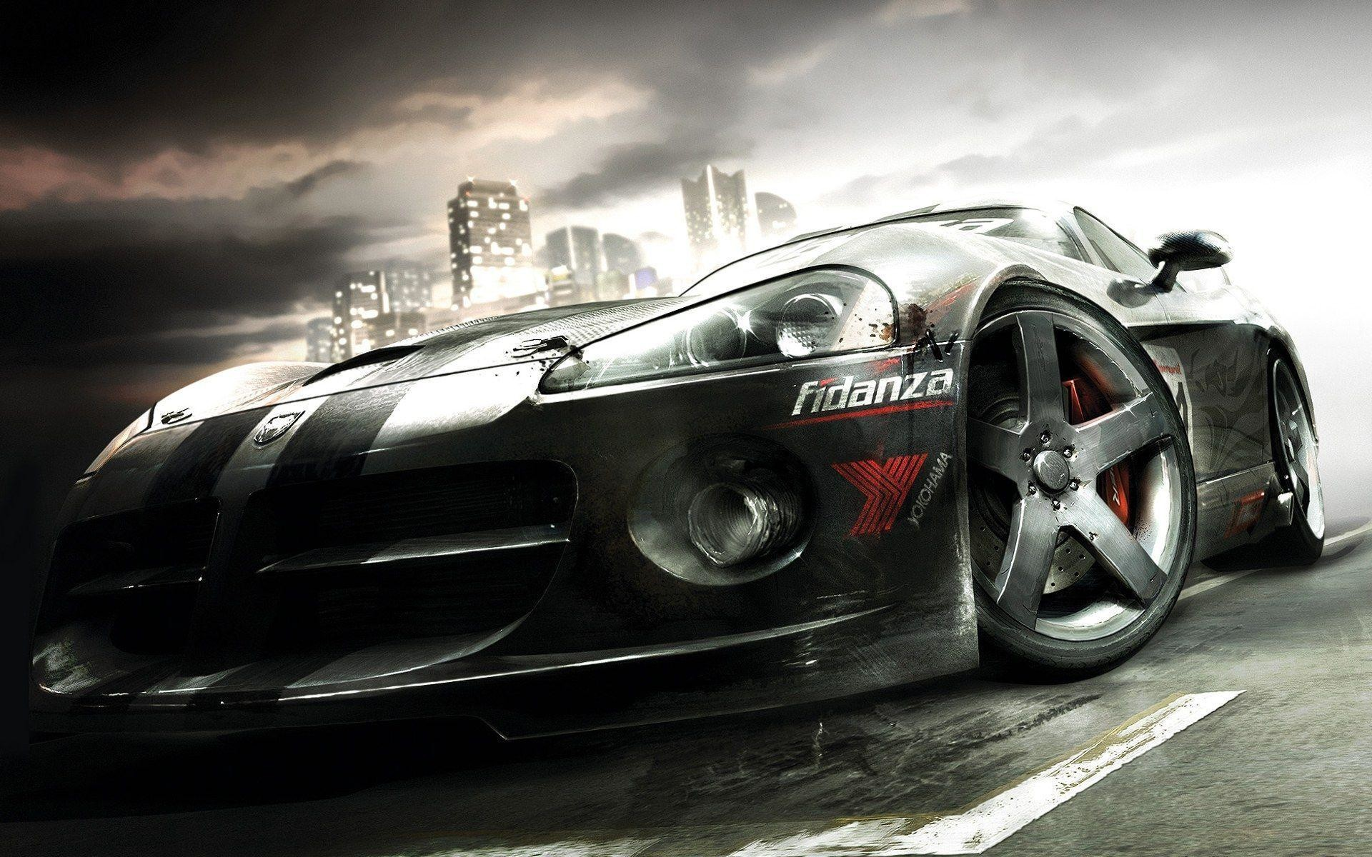 Cool Muscle Car Hd Wallpaper Free Download
