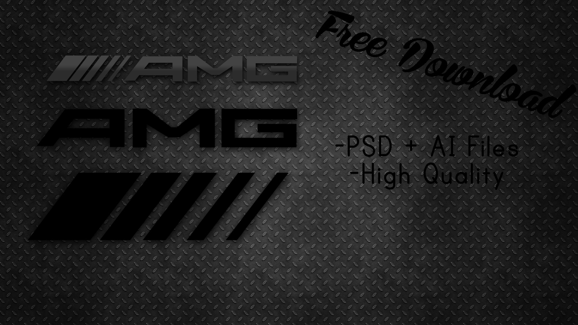 … Free AMG Logo Template! [High Quality + Vector] by exocrypton