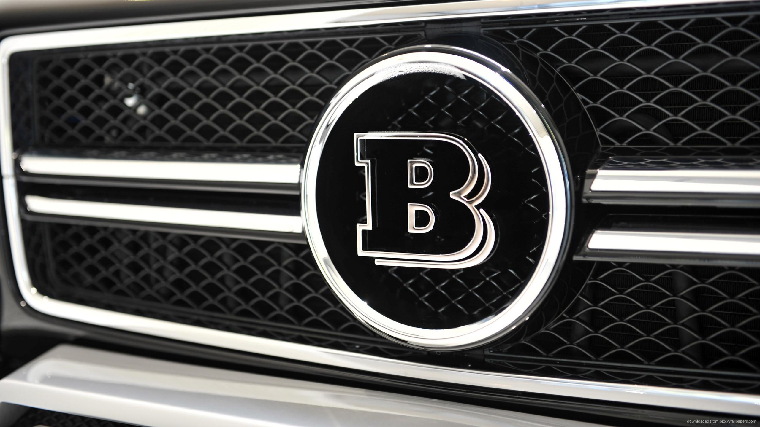 Brabus Mercedes G 63 AMG Logo for 2560×1440