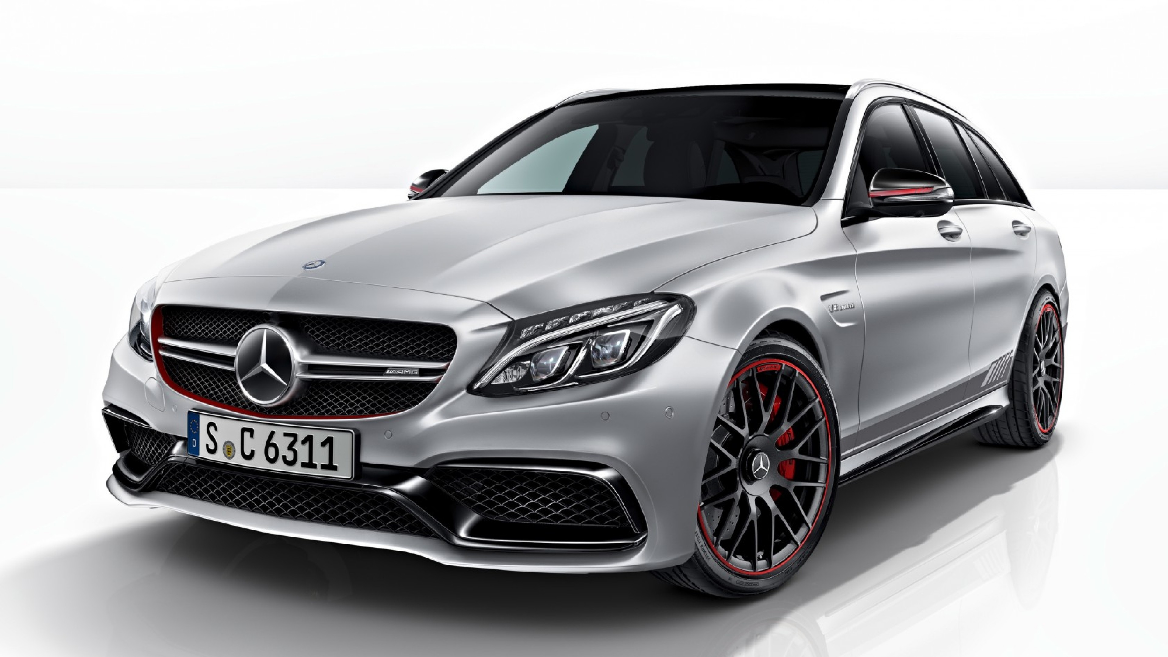 Preview wallpaper mercedes, amg, c63, s, 2014, estate edition, s205