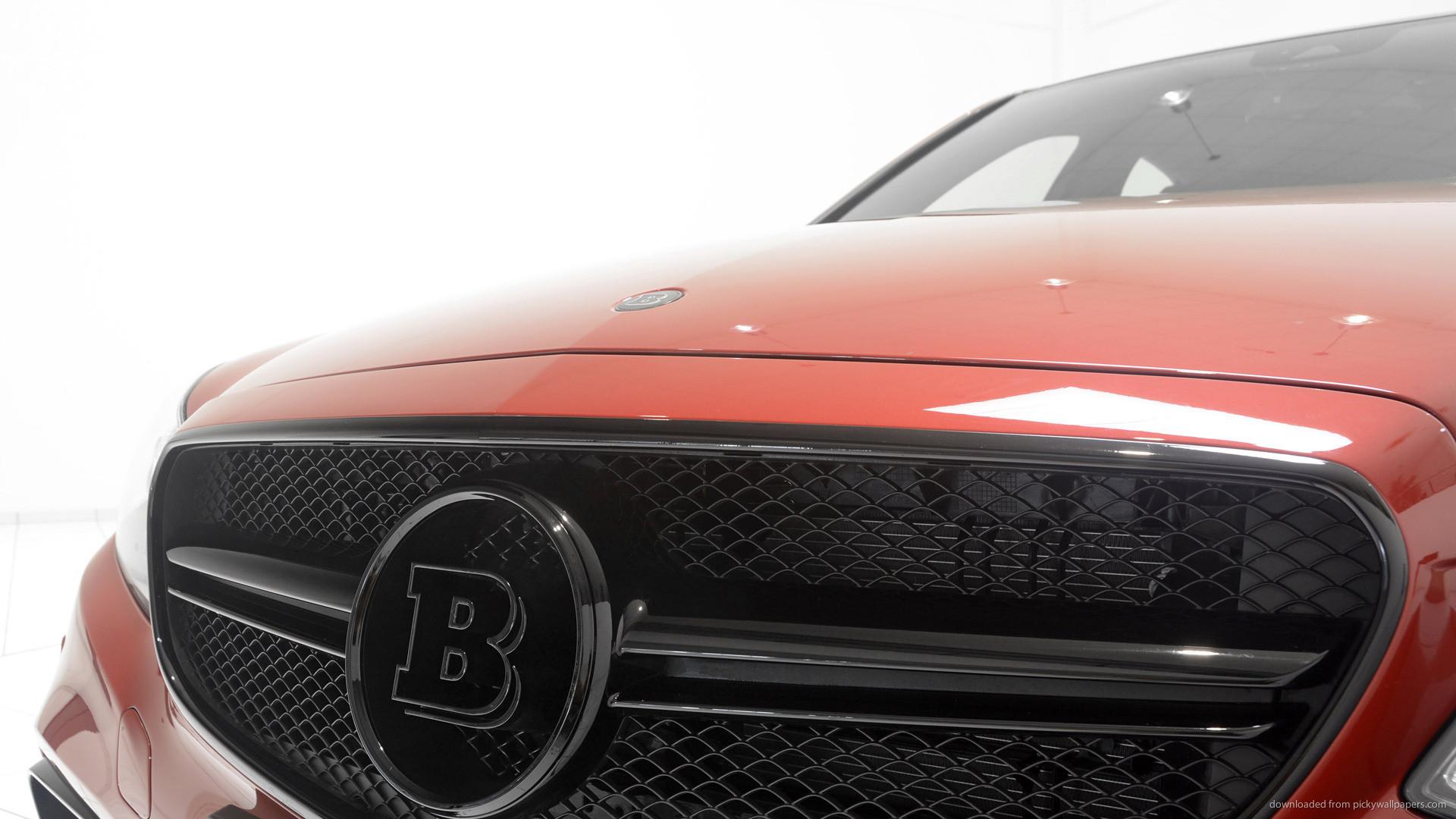Orange Brabus Mercedes-Benz E63 AMG Logo picture
