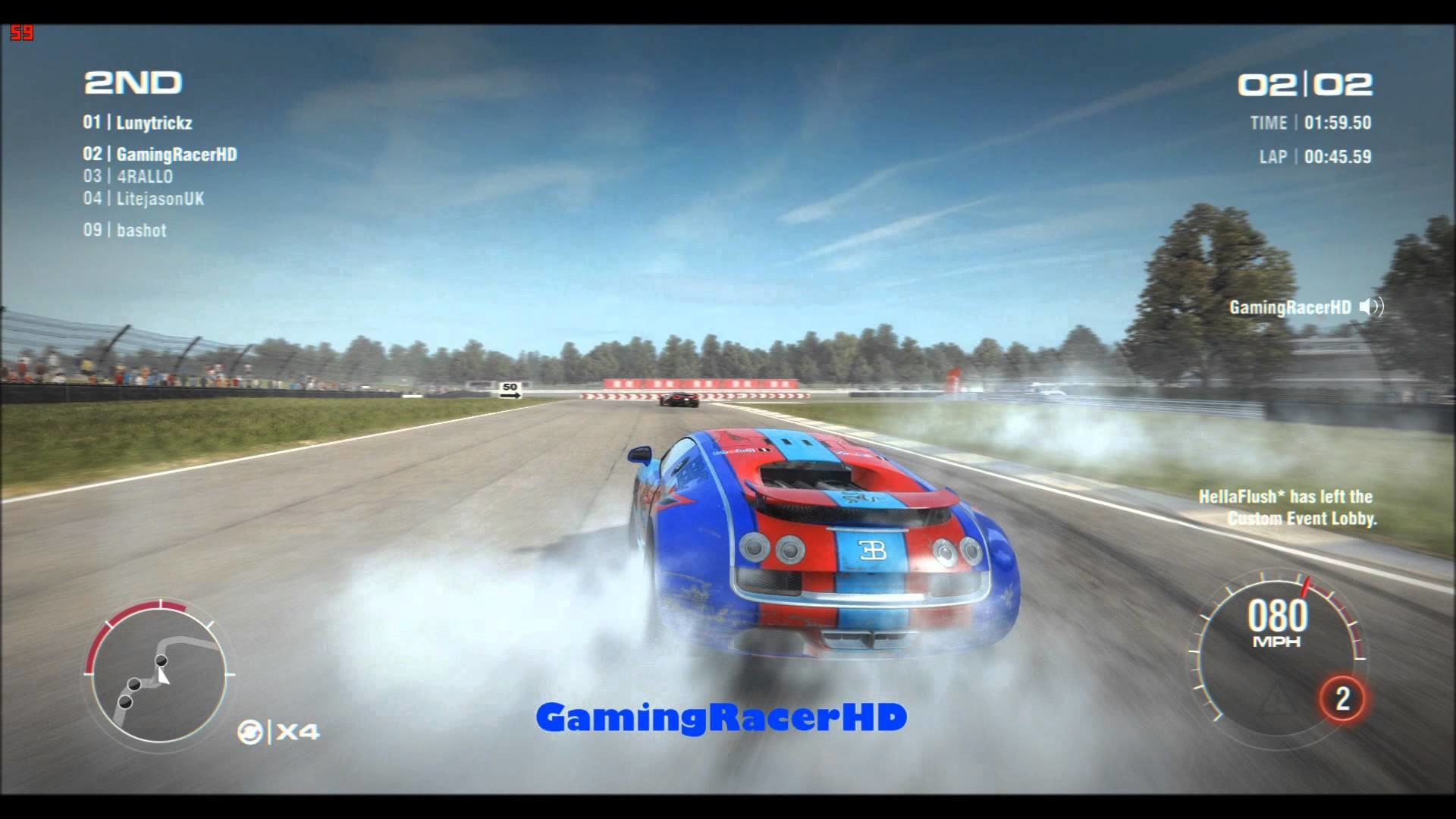 Grid 2 – Online Mode: Bugatti Veyron V Koenigsegg Agera R (1080p HD)