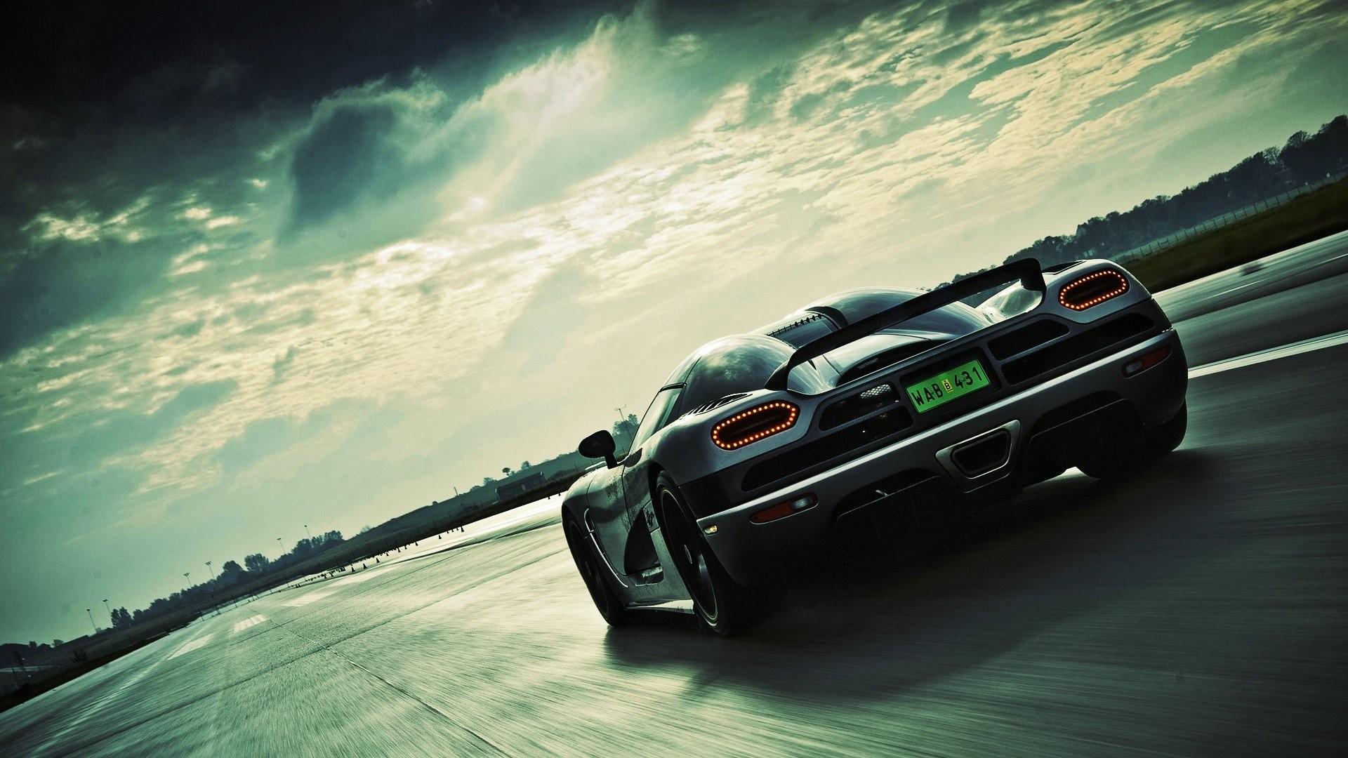 Cars Clouds Koenigsegg Agera R Supercars