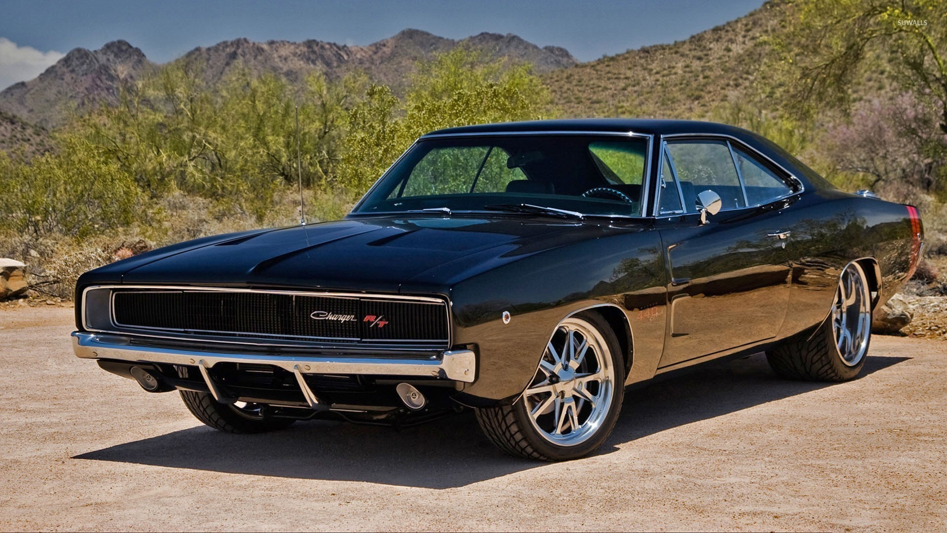 1970 Dodge Charger R/T front side view wallpaper jpg