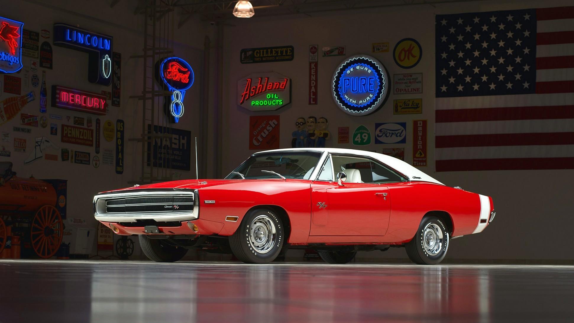 1970 Dodge Charger Rt 426 Hemi V5 Hd Car Wallpaper