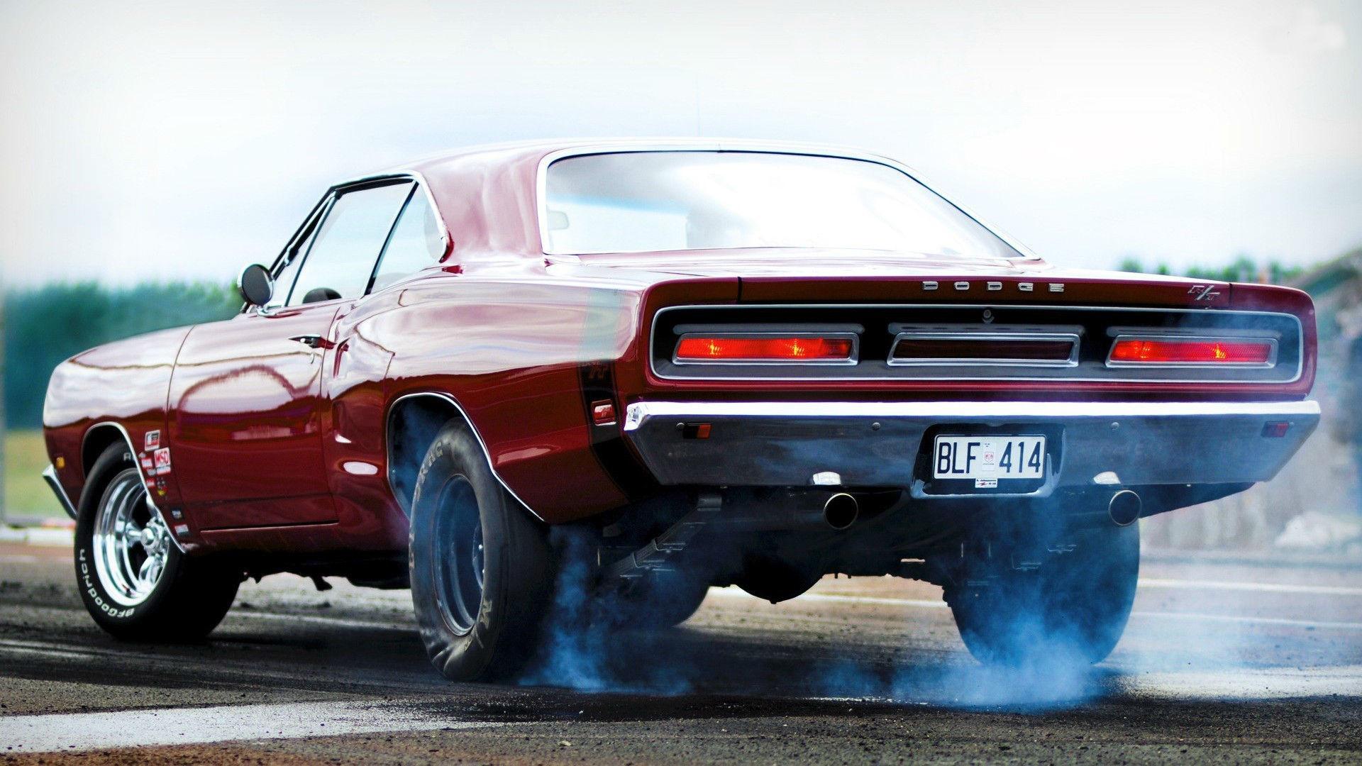 Dodge Charger RT Burnout Wallpaper – HD
