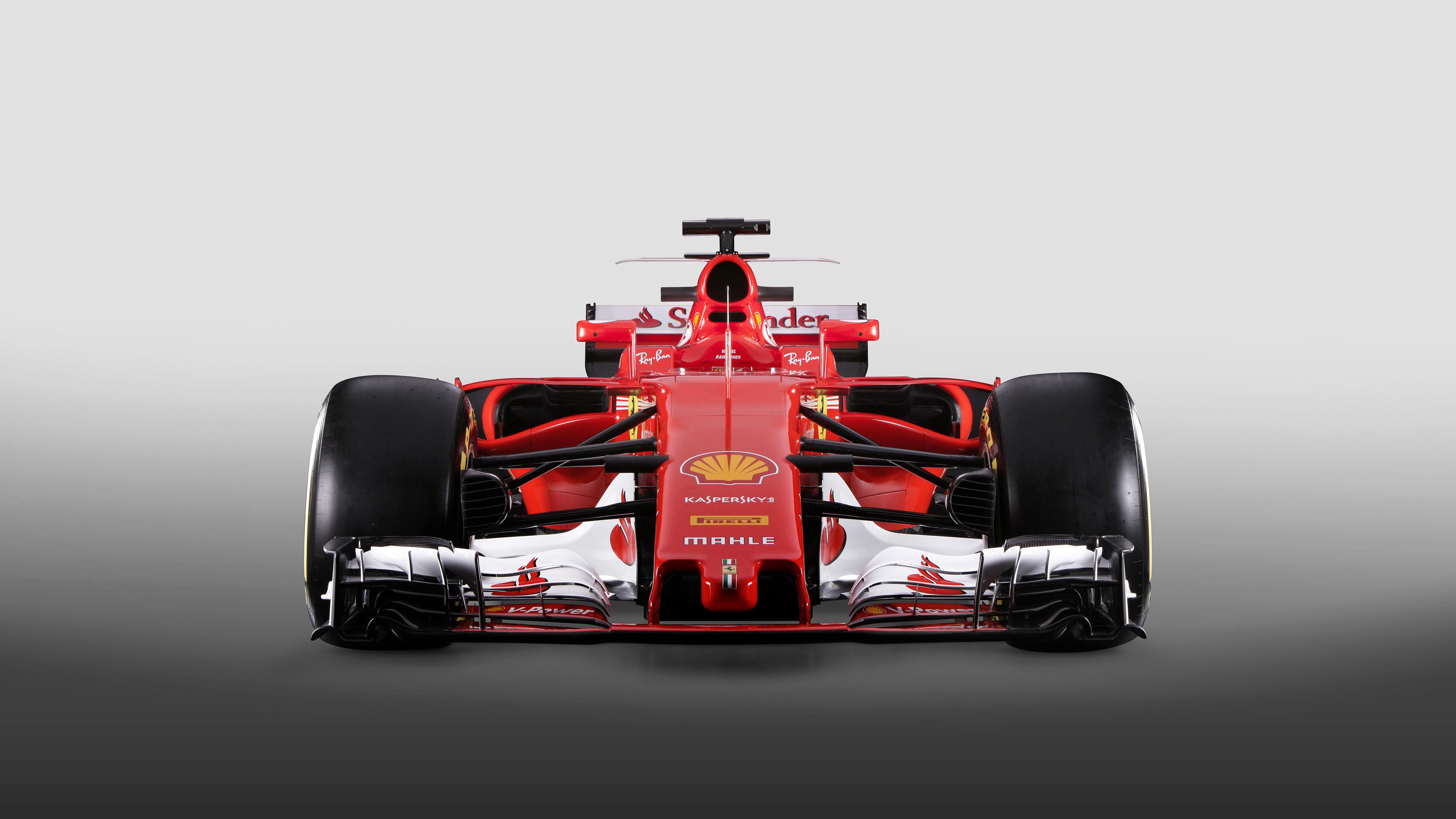 2017 Ferrari SF70H Formula 1 Car 4K