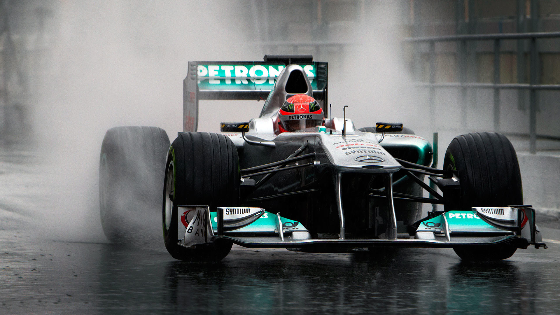 Michael Schumacher, Mercedes W02 …
