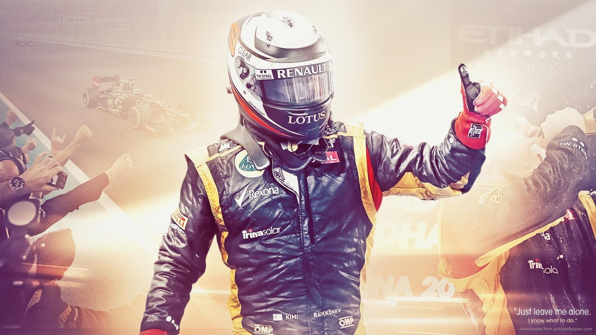 Formula 1 Driver Kimmi Raikkonen picture
