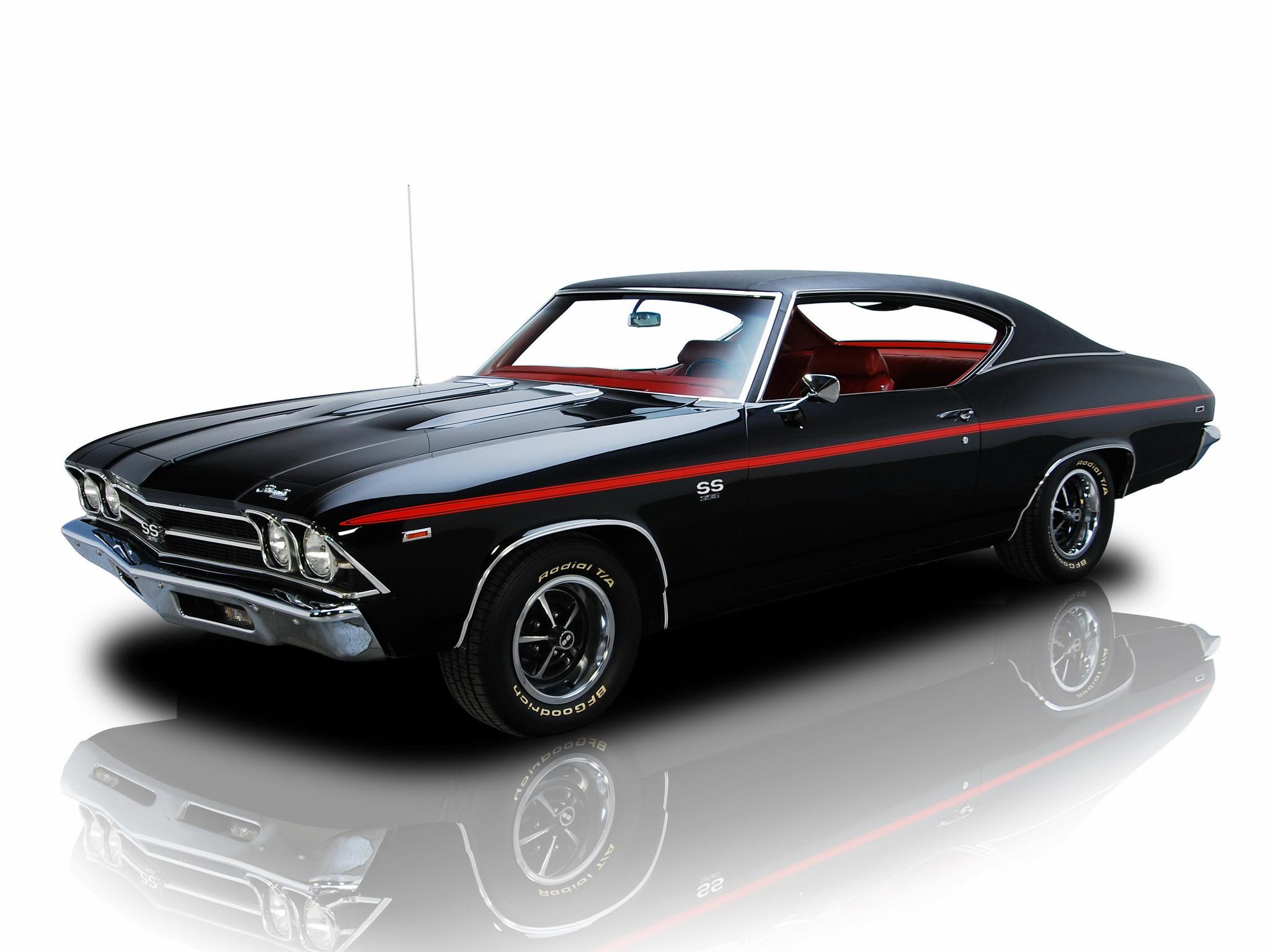 1969 chevrolet ss 396 chevelle   Chevrolet Chevelle SS 396 Hardtop Coupe ' 1969