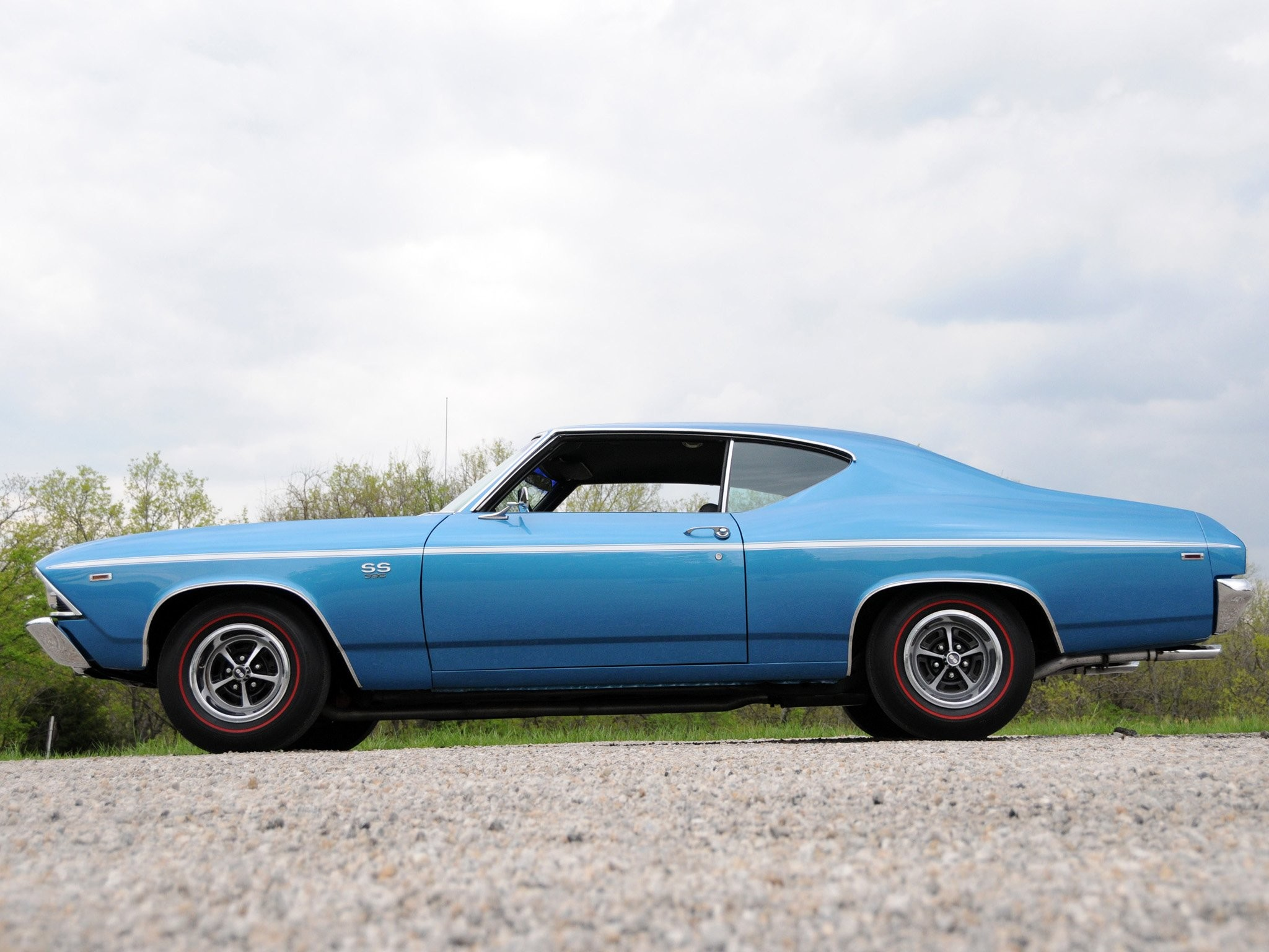 1969 Chevrolet Chevelle S-S 396 Hardtop Coupe muscle .
