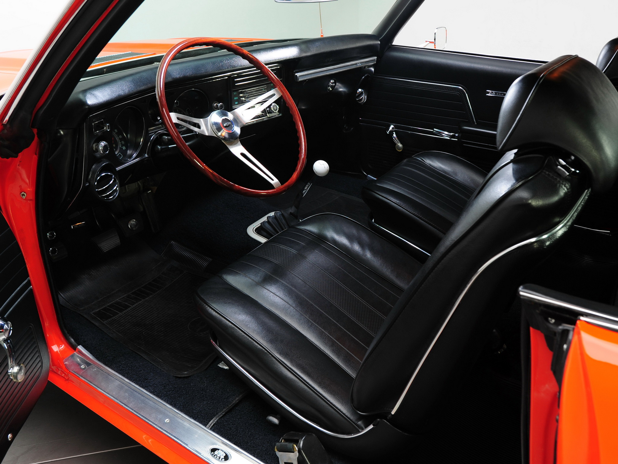 1969 Chevrolet Chevelle S-S 396 L34 Hardtop Coupe muscle classic interior  wallpaper     134841   WallpaperUP