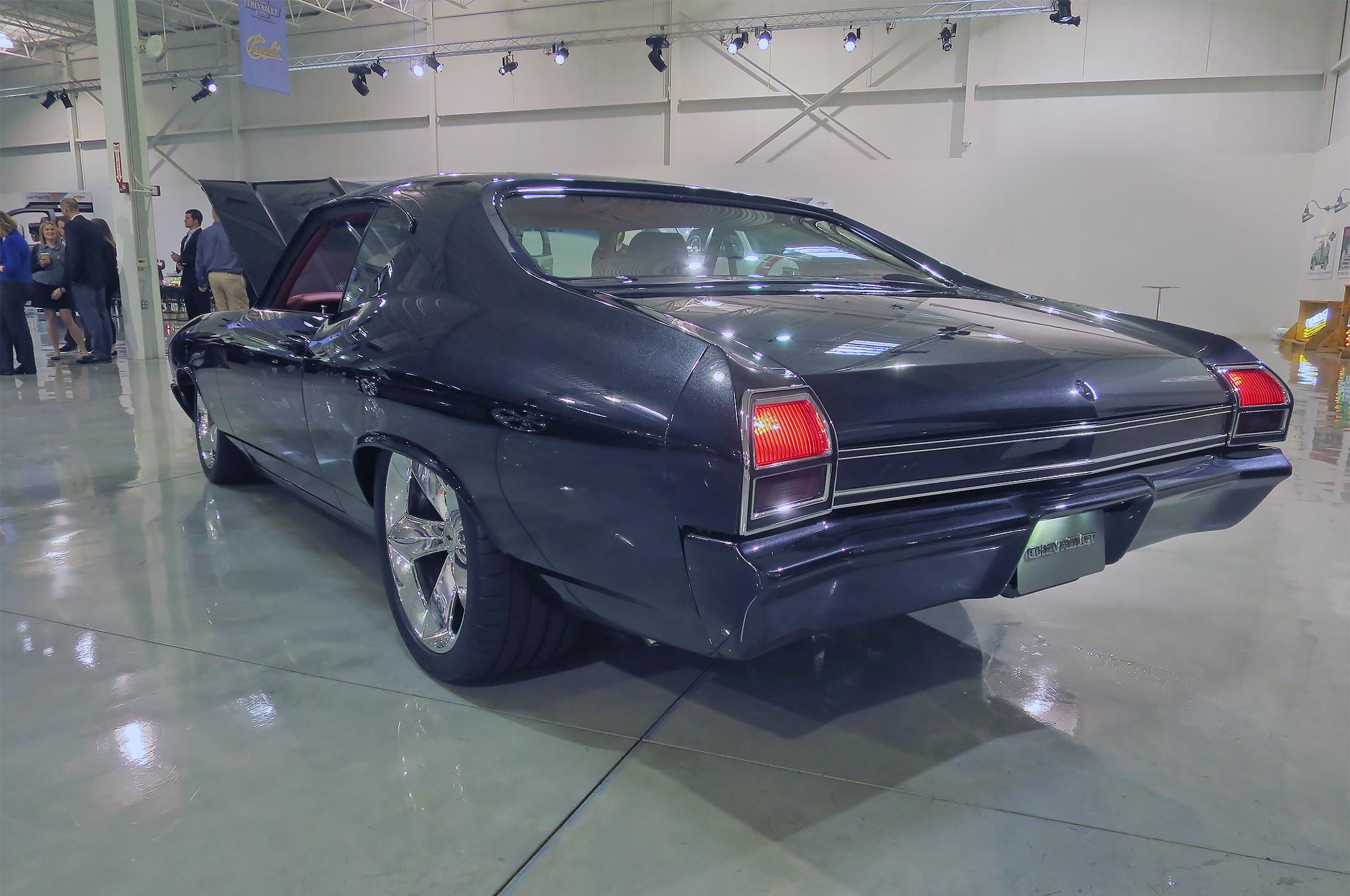 1969 Chevrolet Chevelle Slammer rear three quarter