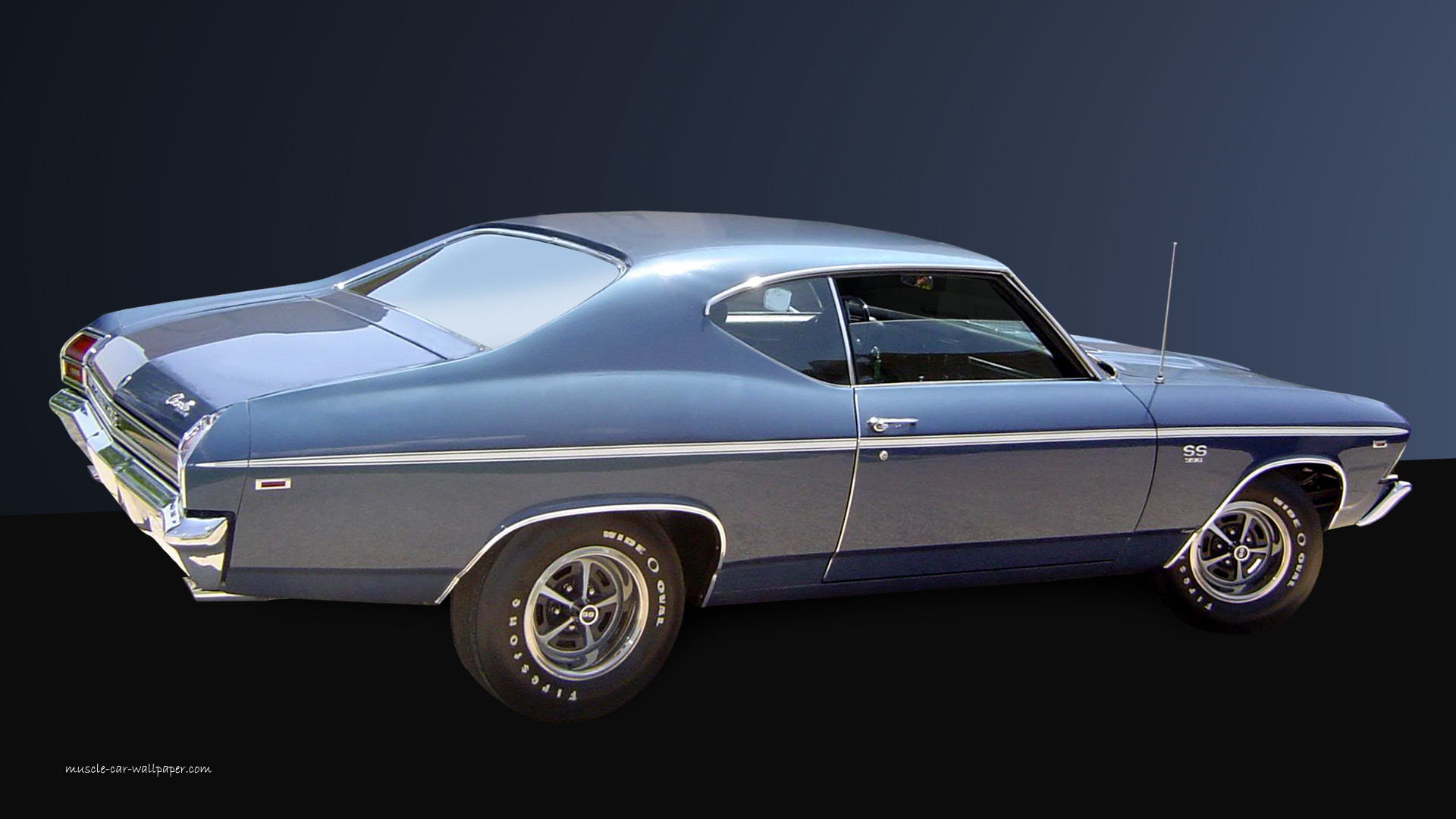 chevelle wallpaper blue coupe images pictures 1920×1080