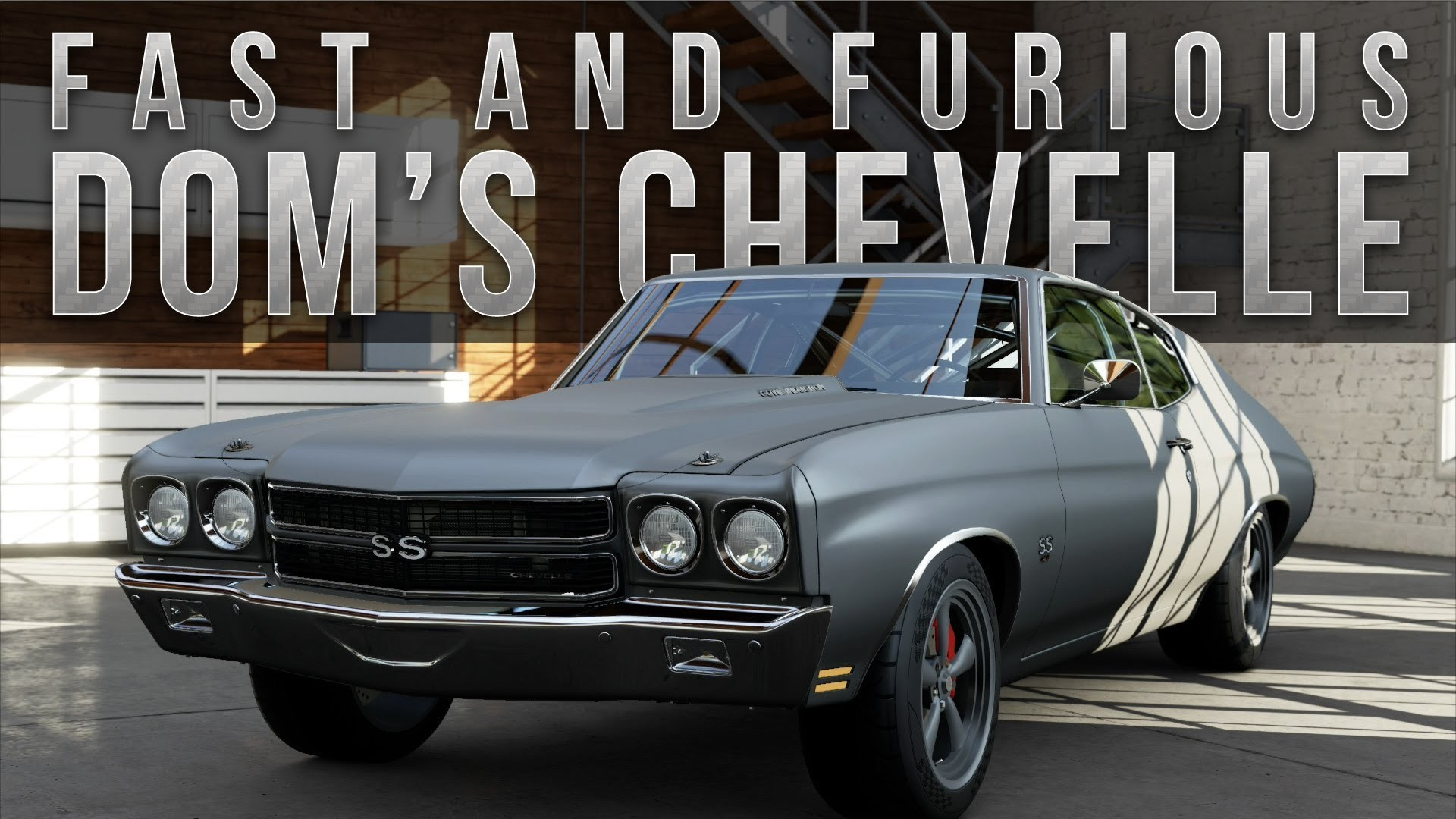 Chevrolet Chevelle SS Fast and Furious