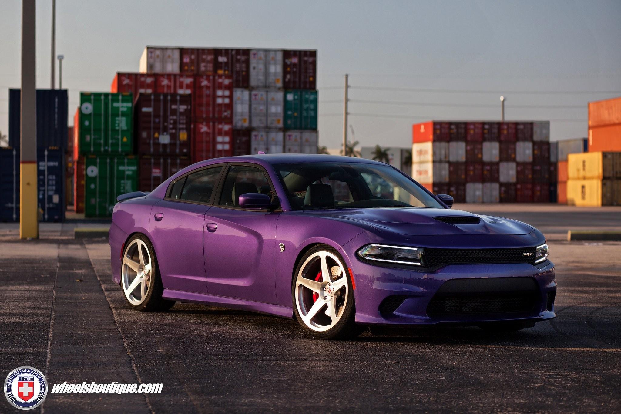 Dodge Charger SRT Hellcat Cars HRE wheels wallpaper | | 966659 |  WallpaperUP