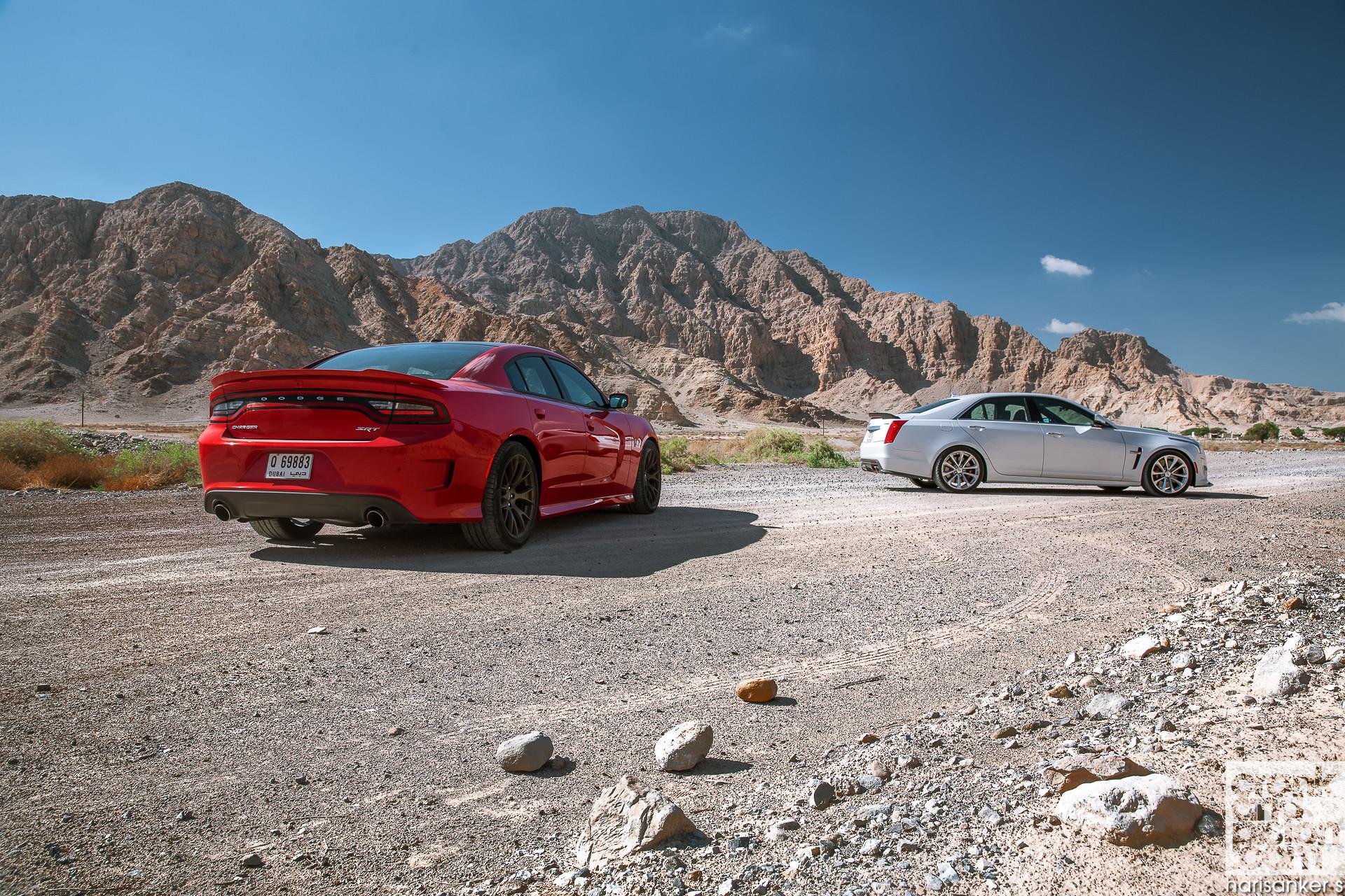 … Cadillac CTS-V vs Dodge Charger SRT Hellcat WALLPAPERS crankandpiston-4  …