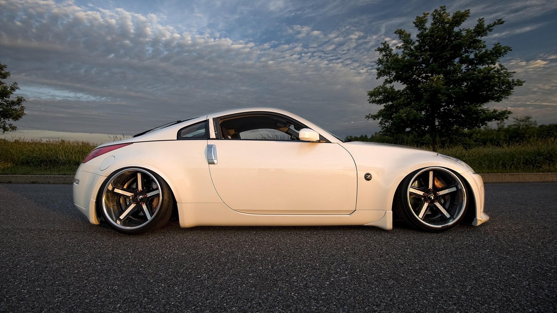 Slammed Nissan 370Z Stance | Nissan 350z White Wallpaper