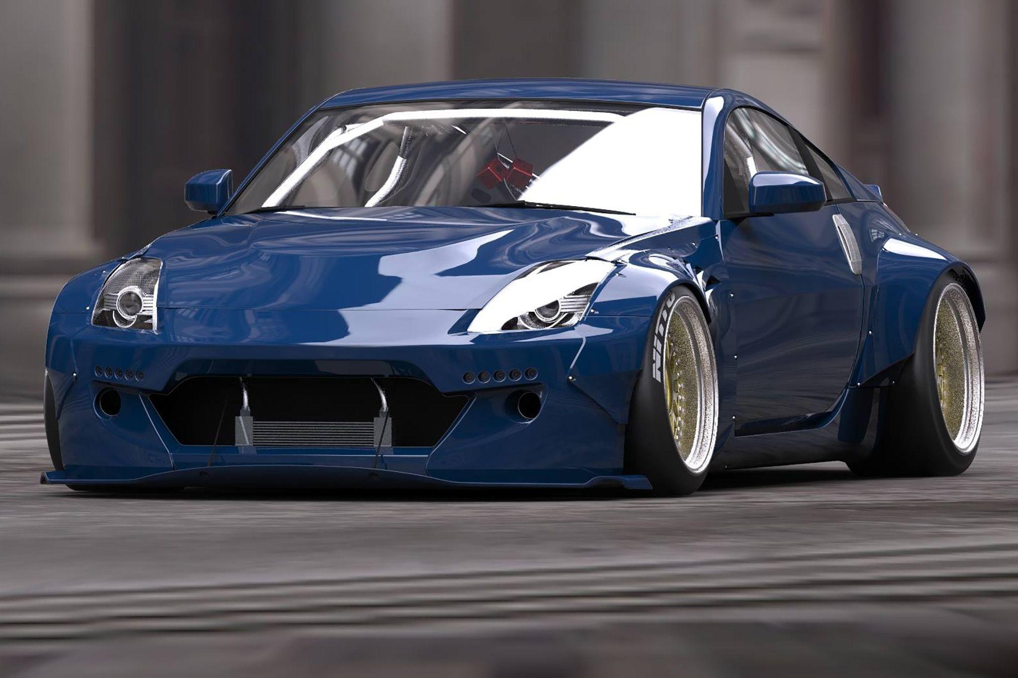 Blue front