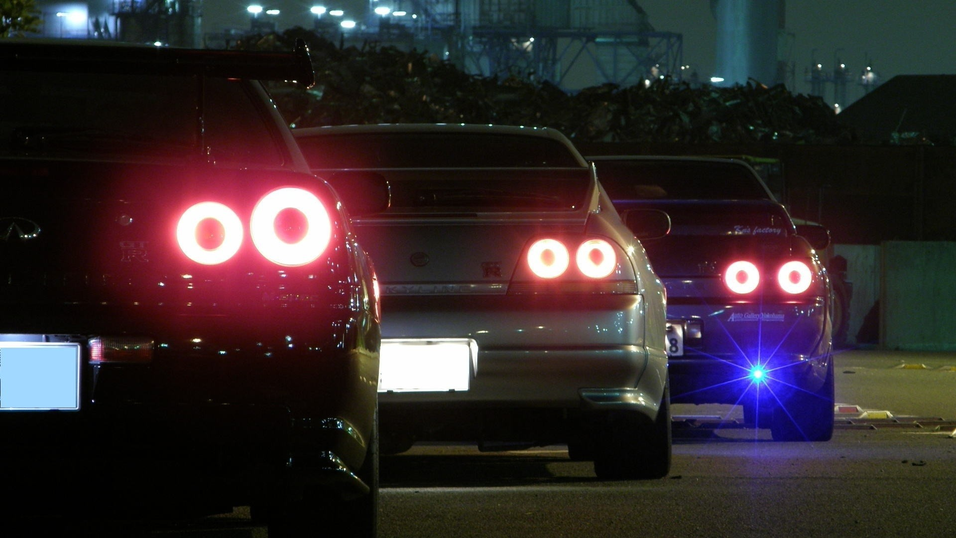 cars backview vehicles nissan skyline r32 gtr jdm nissan skyline r33 gtr  tuning wallpaper