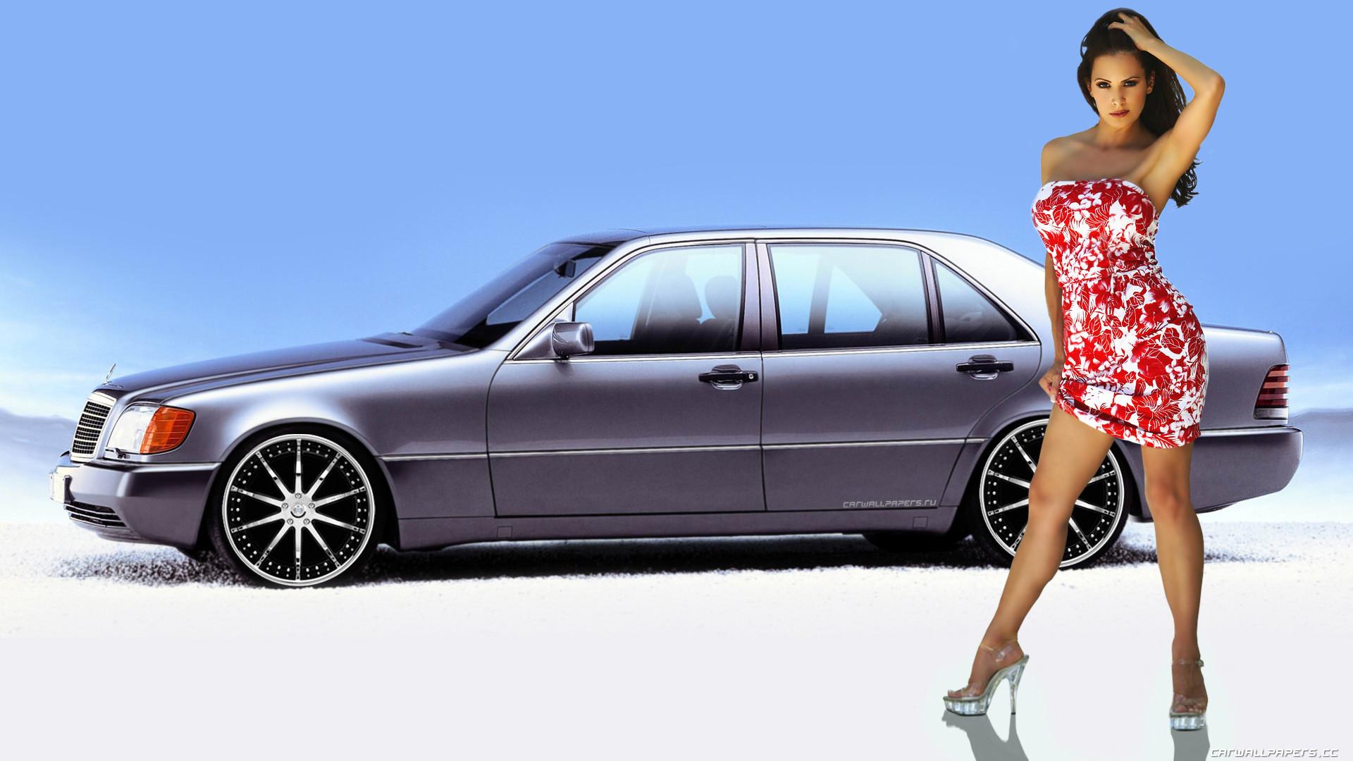 Car and Girl desktop wallpapers