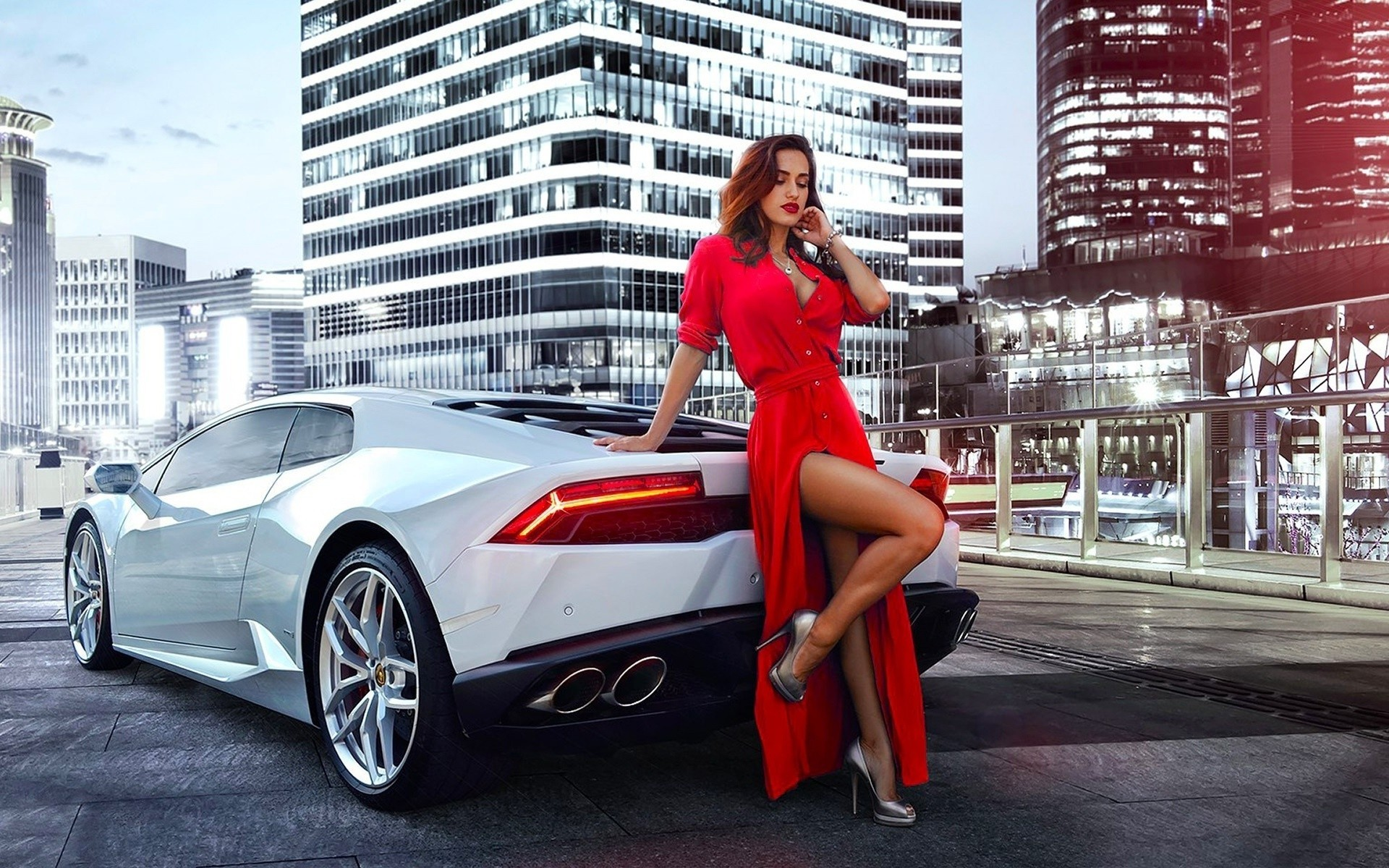 Women With Car