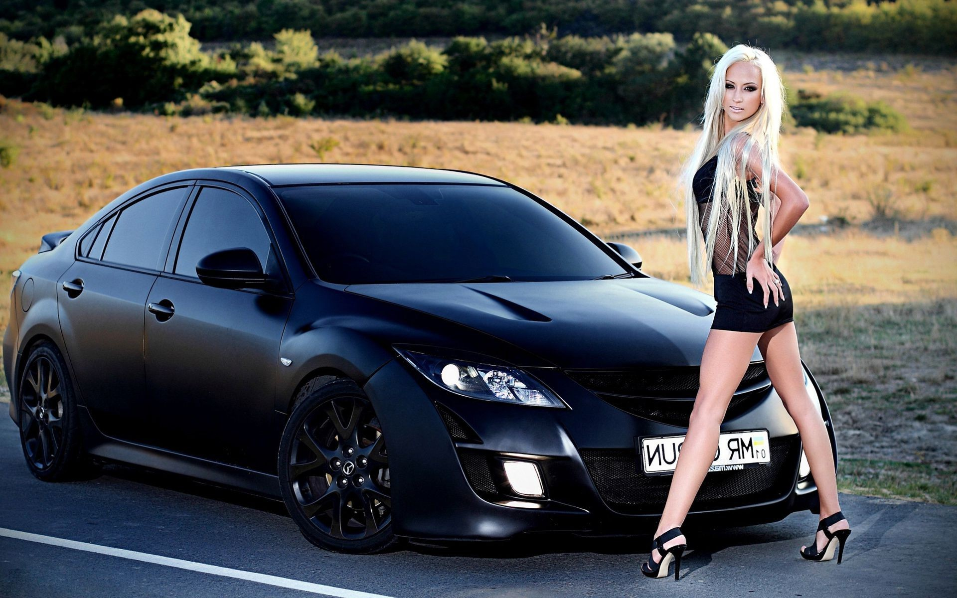 Sport Car Wallpaper With Girl: Cars And Girls Woman Fashion Car Girl Model Sexy Portrait