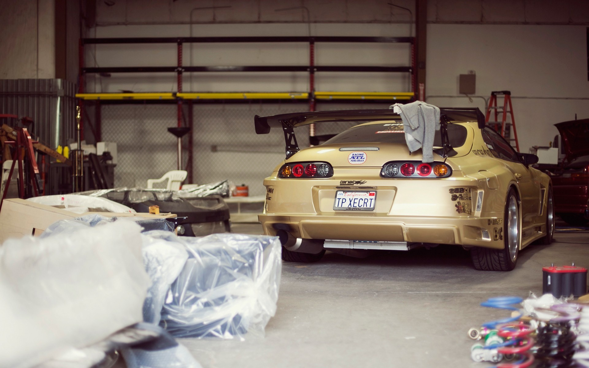 Photography Toyota Supra Garage HD Wallpaper | FreeHDWall.Com | Free HD  Wallpapers for your