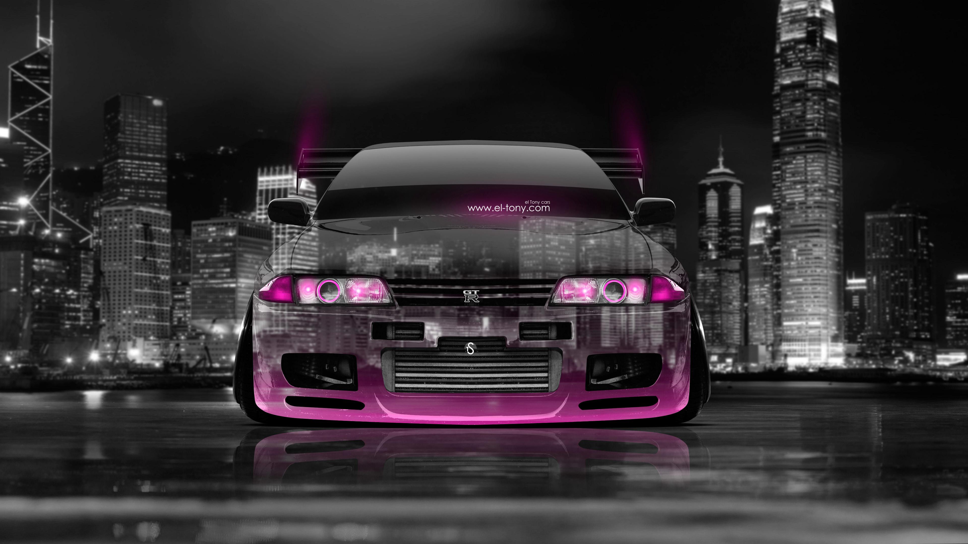 … Nissan-Skyline-GTR-R32-JDM-Front-Crystal-City- …