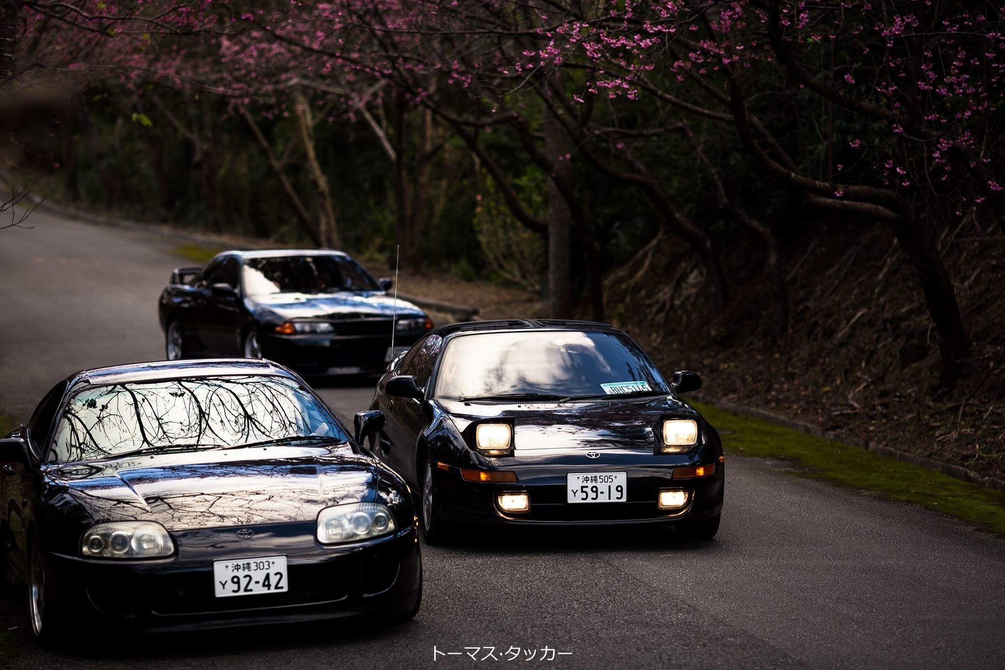 Toyota Supra, MR2, Nissan R32 GTR Okinawa HD Wallpaper From Gallsource