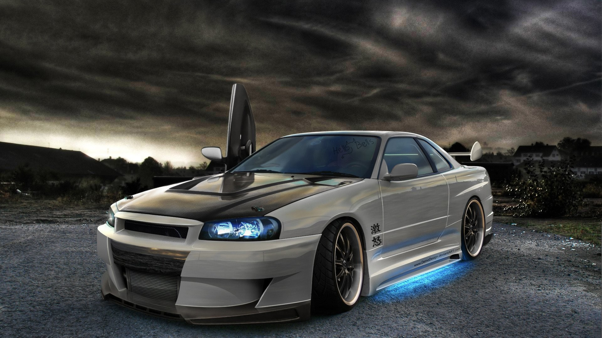 nissan skyline gtr Android Wallpapers HD Cars Pinterest